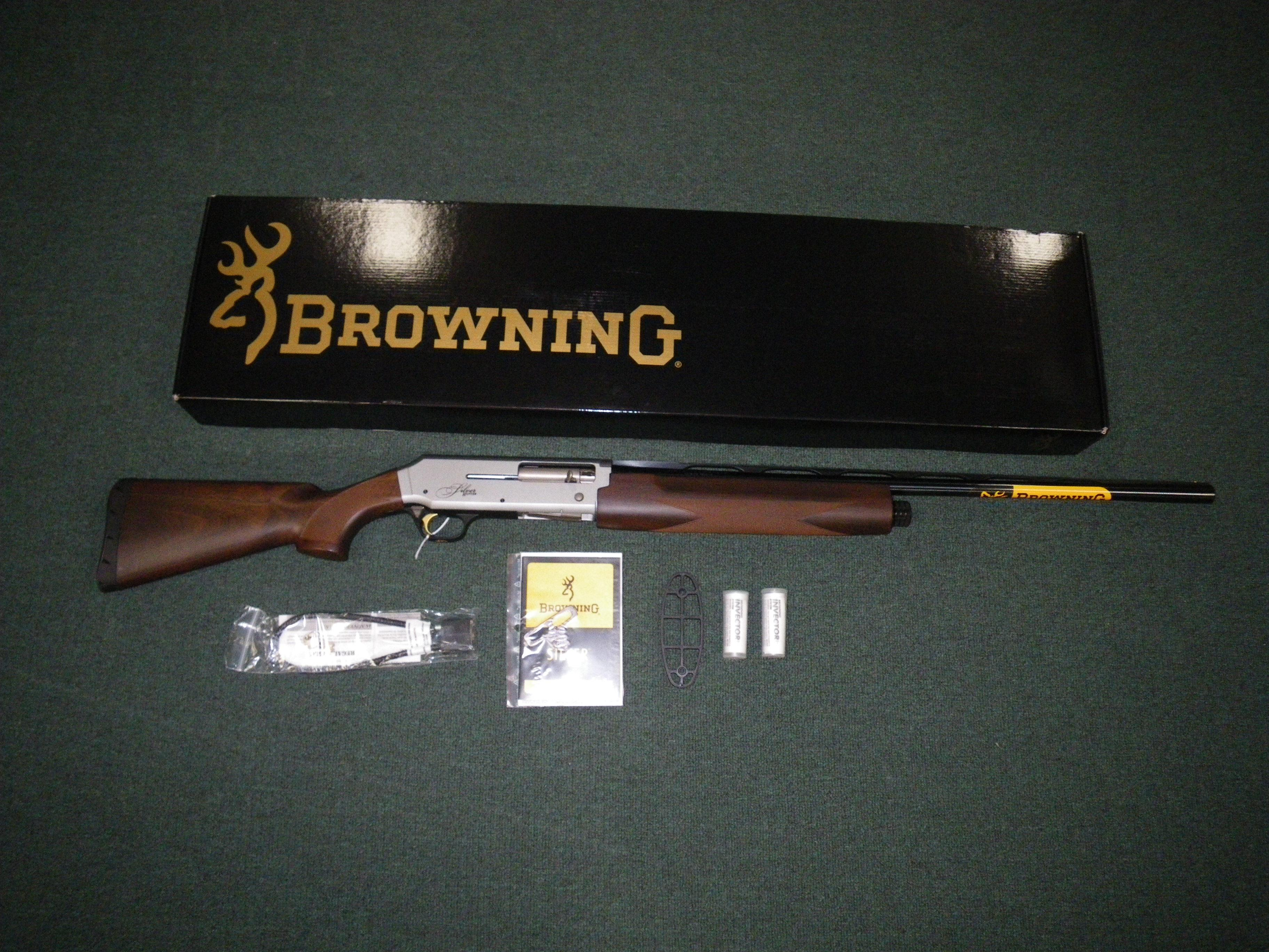 "Browning Silver Hunter Micro Midas 12ga 26"" 13""LOP #011389305  Guns > Shotguns > Browning Shotguns > Autoloaders > Hunting"