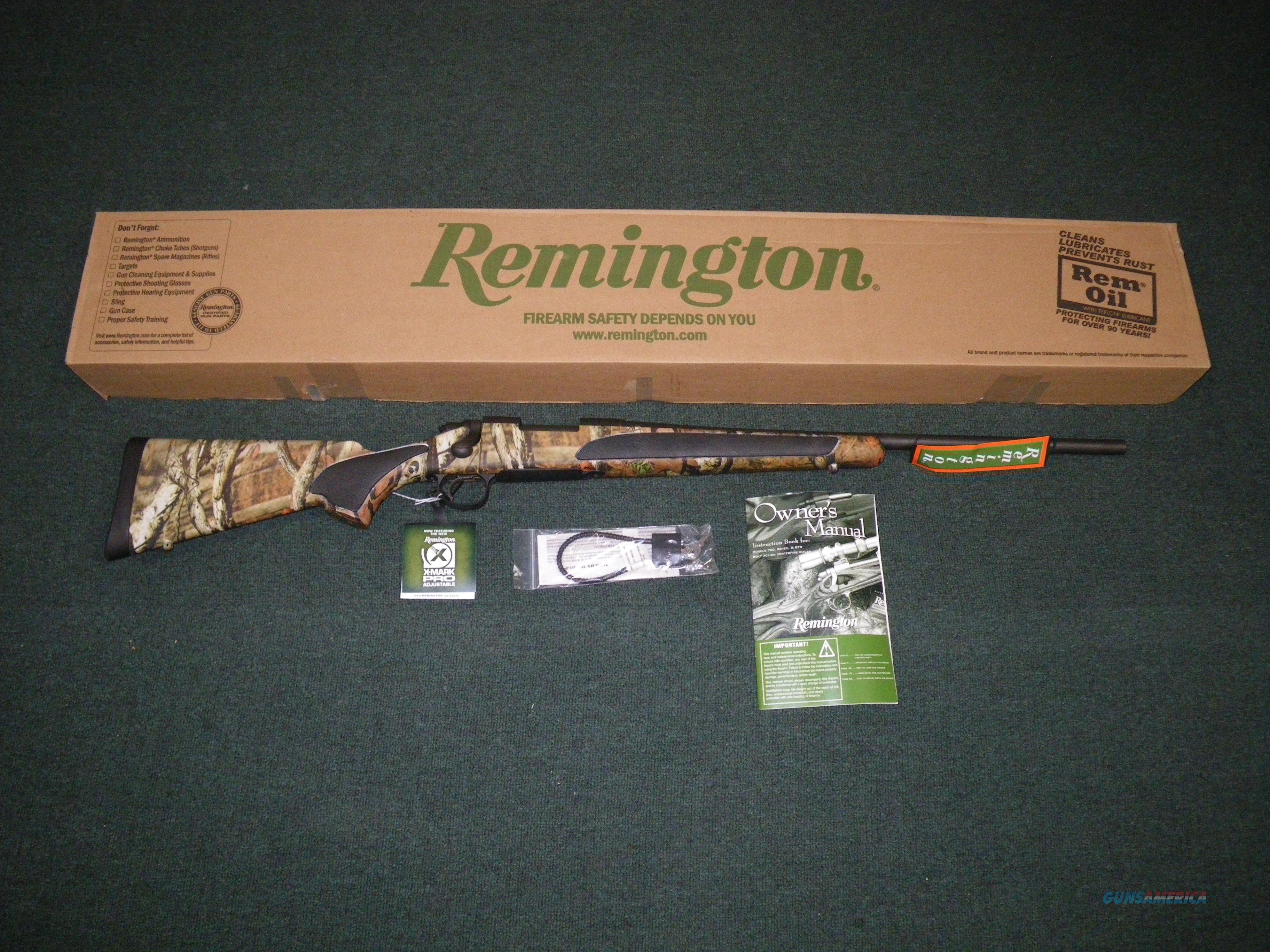 "Remington Model 700 SPS Camo 270 Win 22"" MOBU Infinity #84185  Guns > Rifles > Remington Rifles - Modern > Model 700 > Sporting"