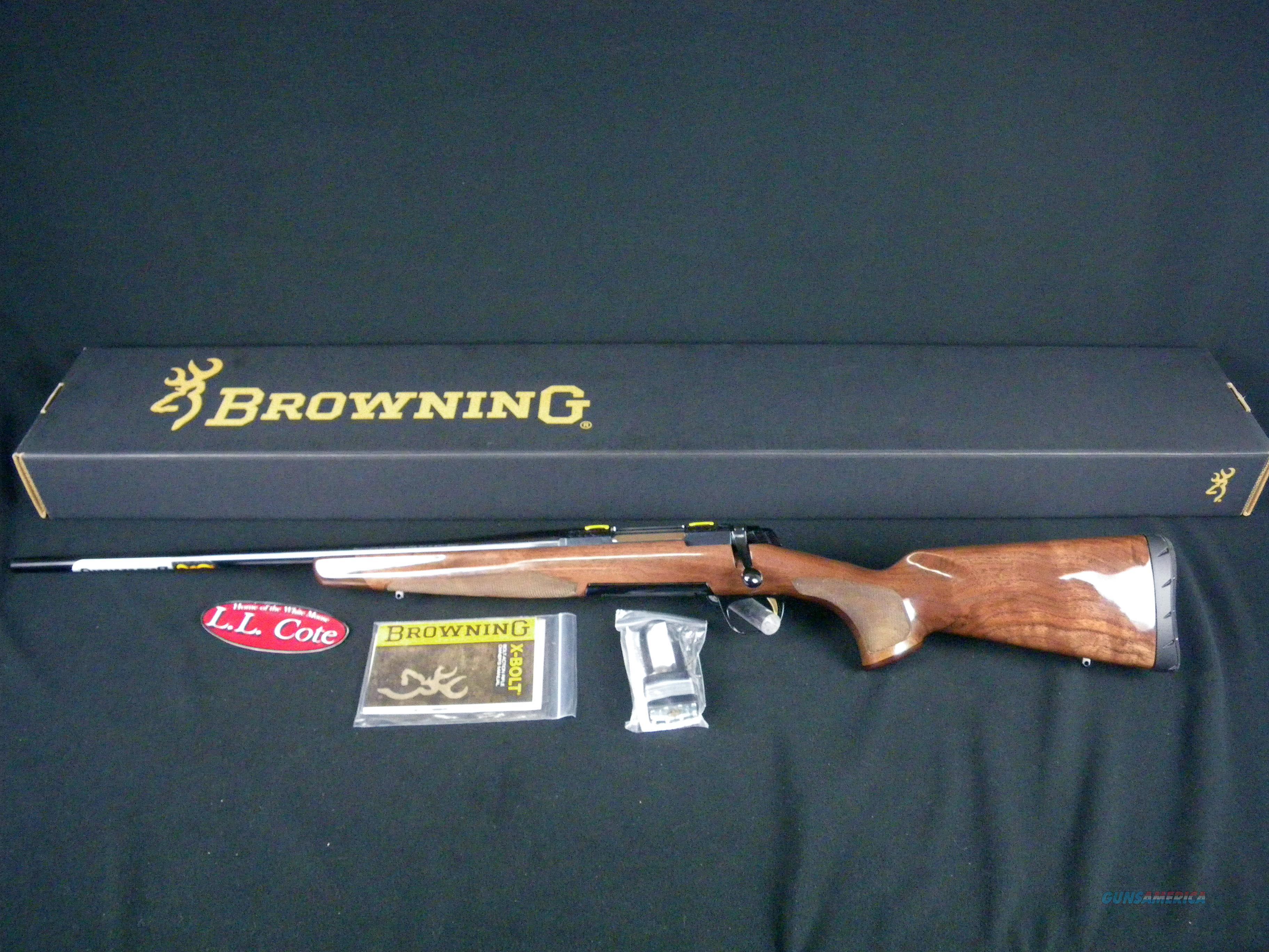 "Browning X-Bolt Medallion Left Hand 308 Win 22"" #035253218  Guns > Rifles > Browning Rifles > Bolt Action > Hunting > Blue"