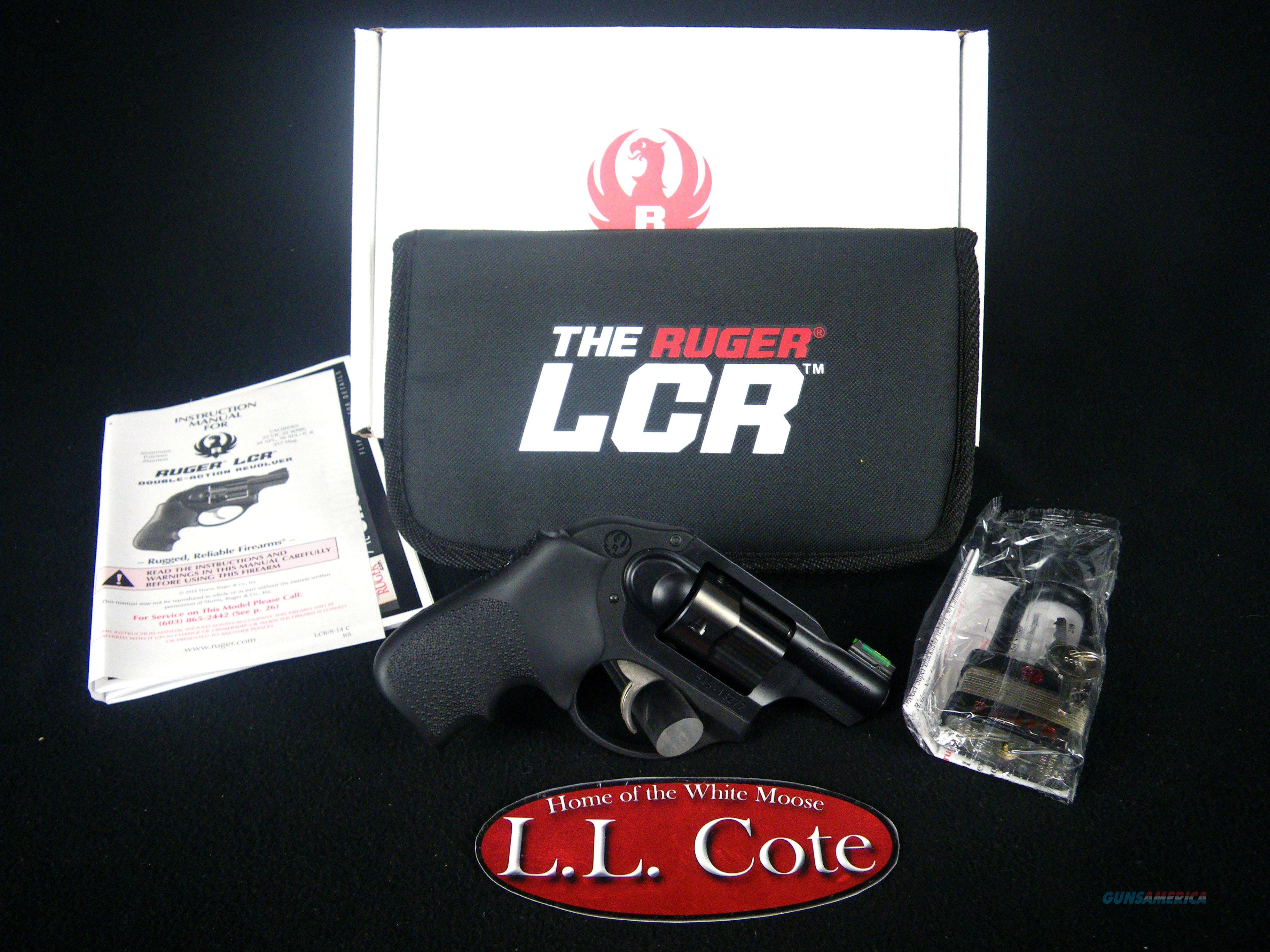 "Ruger LCR 38 Spl+P 1.87"" Fiber Optic NEW 5418  Guns > Pistols > Ruger Double Action Revolver > LCR"