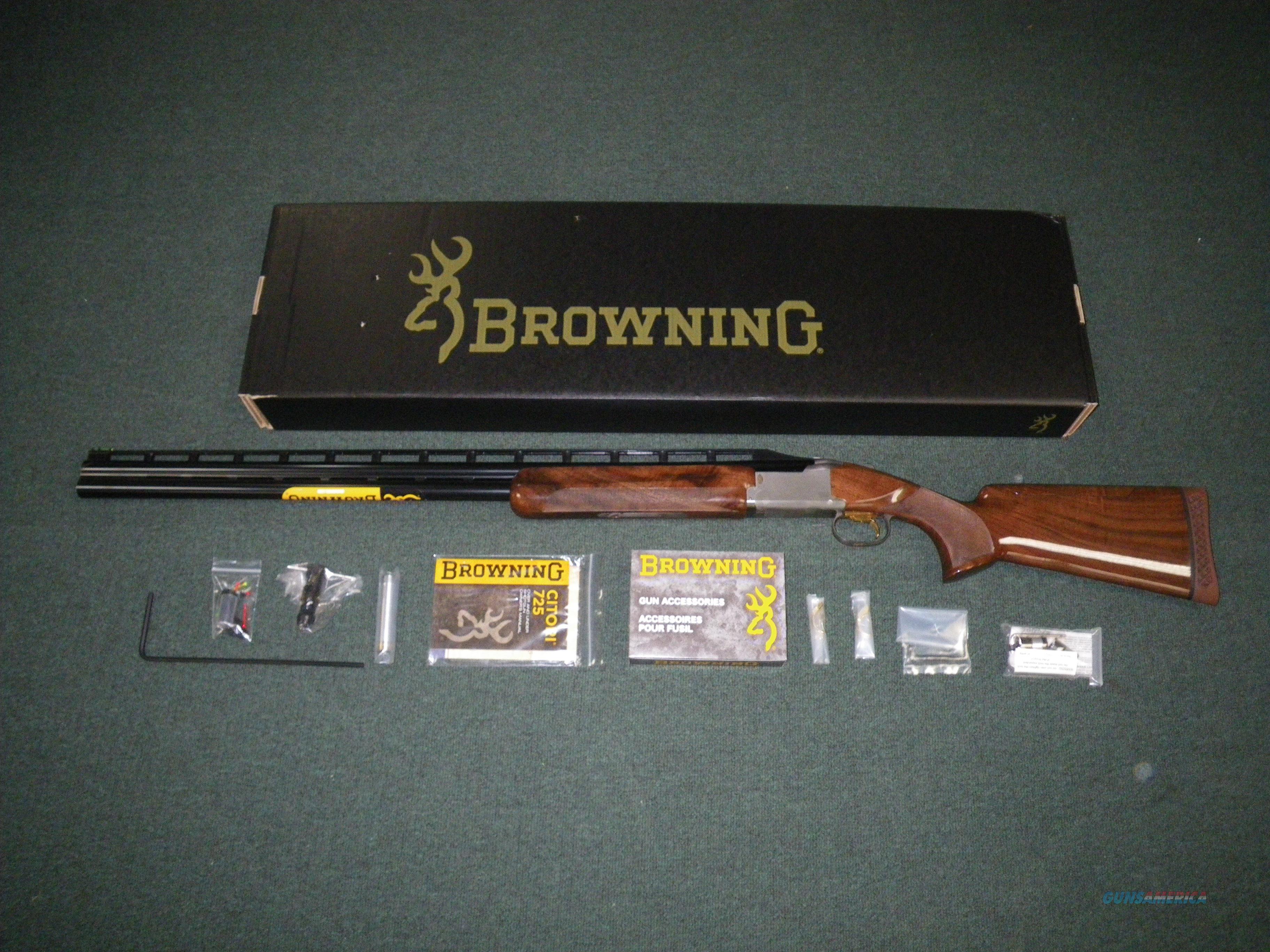 """Browning Citori 725 Trap LH Adj Comb 12ga 30"""" NEW #0135823010  Guns > Shotguns > Browning Shotguns > Over Unders > Citori > Hunting"""