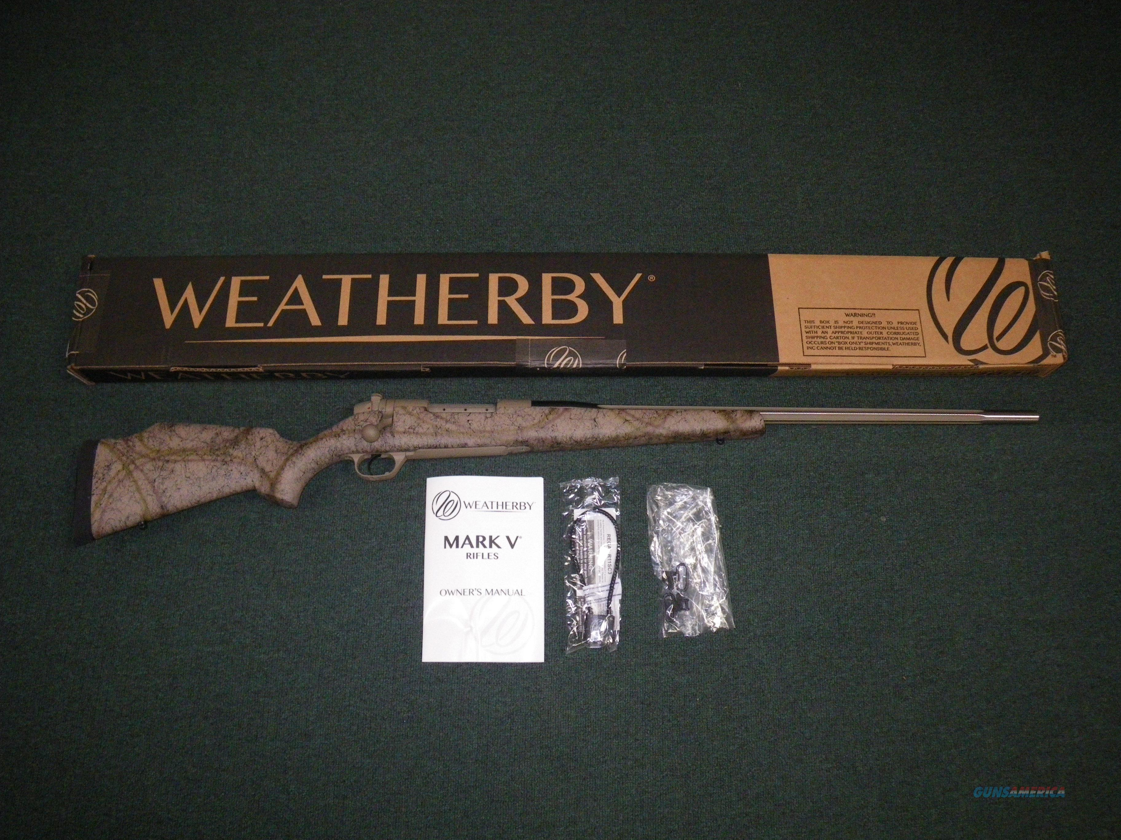 "Weatherby Mark V Terramark 6.5 Creedmoor 24"" NEW #MATS65CMR4O  Guns > Rifles > Weatherby Rifles > Sporting"