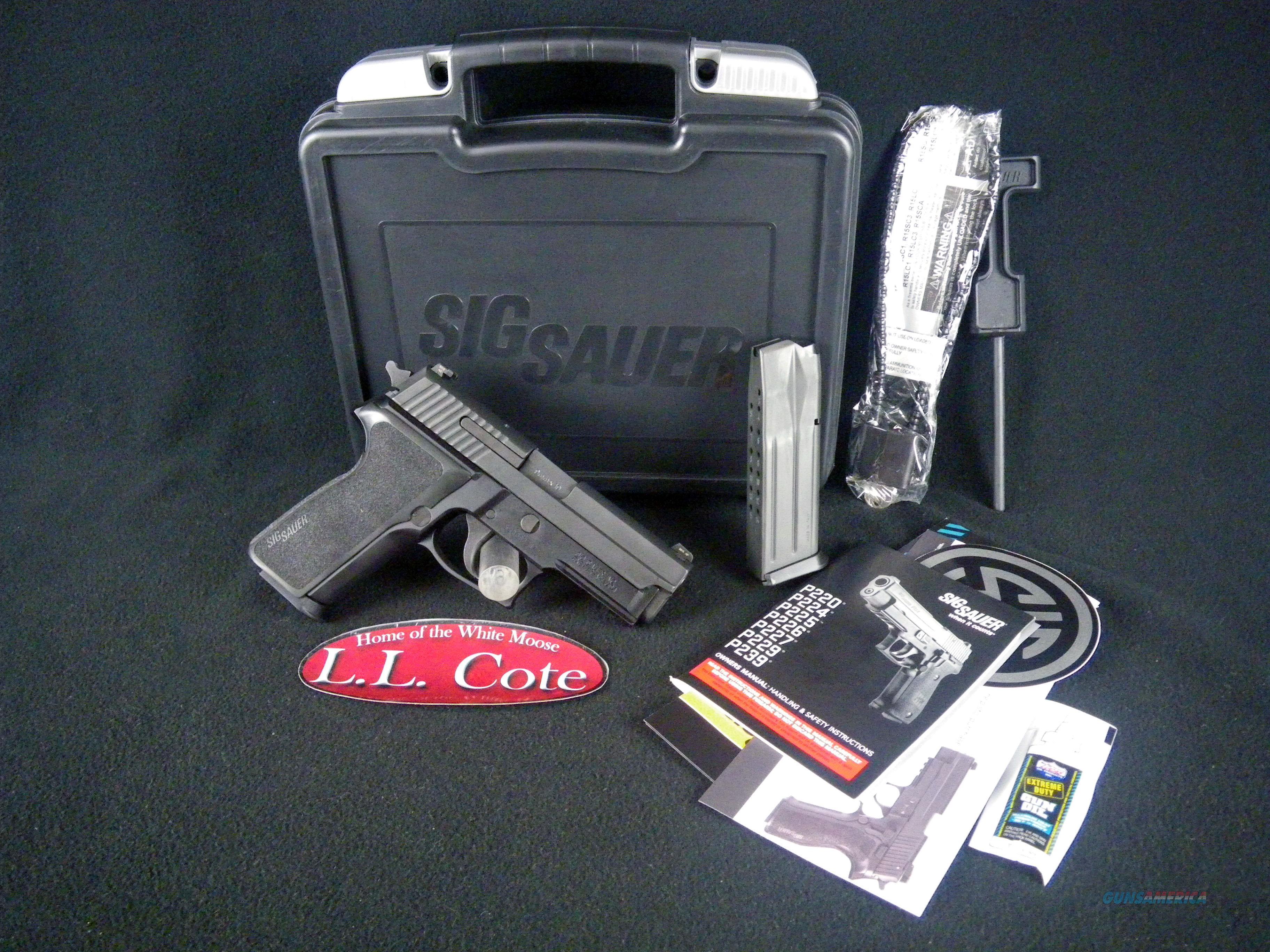 "Sig Sauer P229 Nitron Compact 9mm 3.9"" Black NEW E29R-9-BSS   Guns > Pistols > Sig - Sauer/Sigarms Pistols > P229"