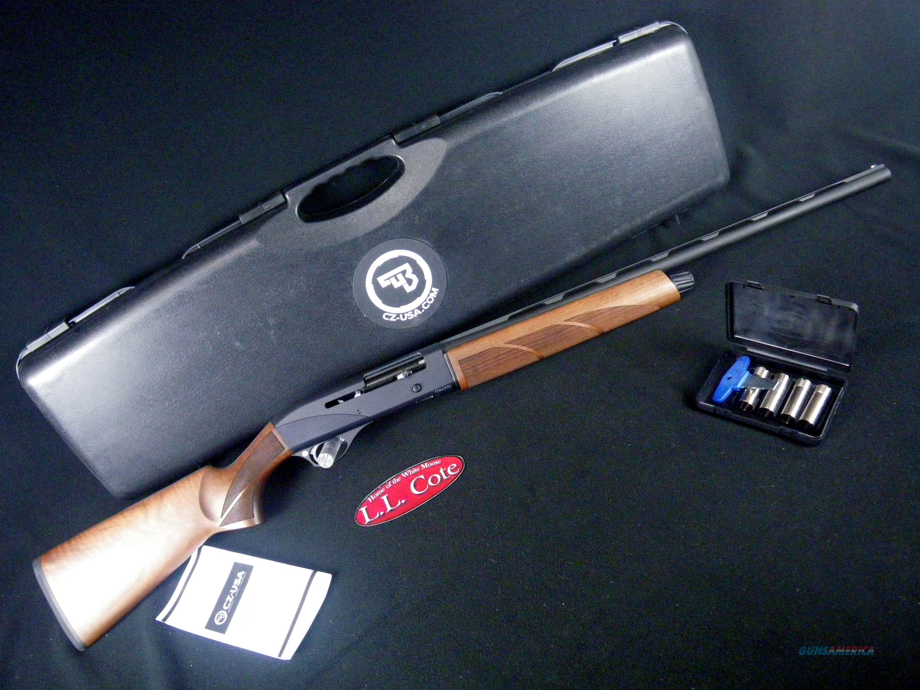 """CZ 720 G2 20ga 26"""" NEW 3"""" Walnut/Black 06440  Guns > Shotguns > CZ Shotguns"""