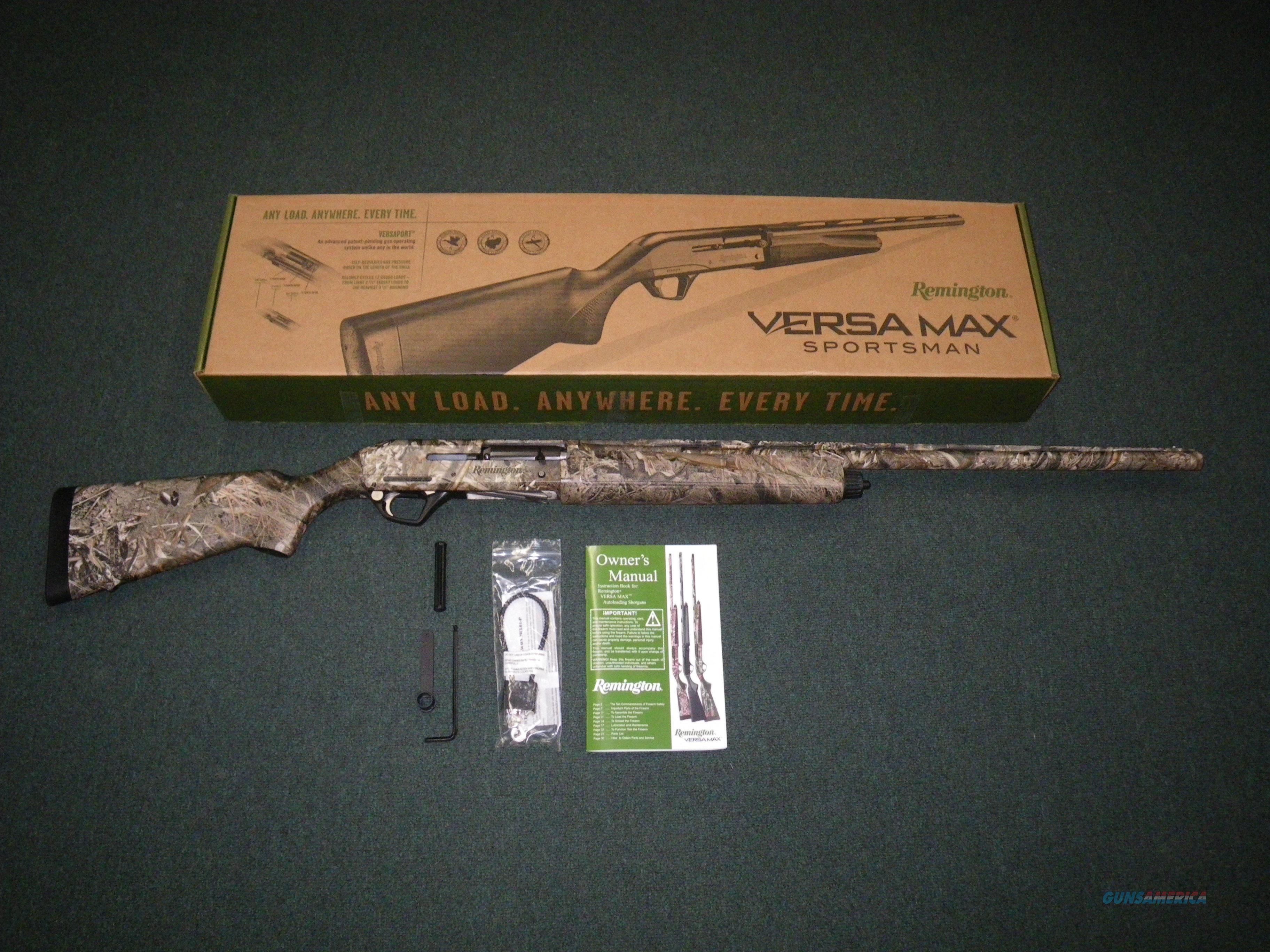 "Remington Versa-Max Duck Blind 12ga 28"" 3.5"" NEW #81049  Guns > Shotguns > Remington Shotguns  > Autoloaders > Hunting"