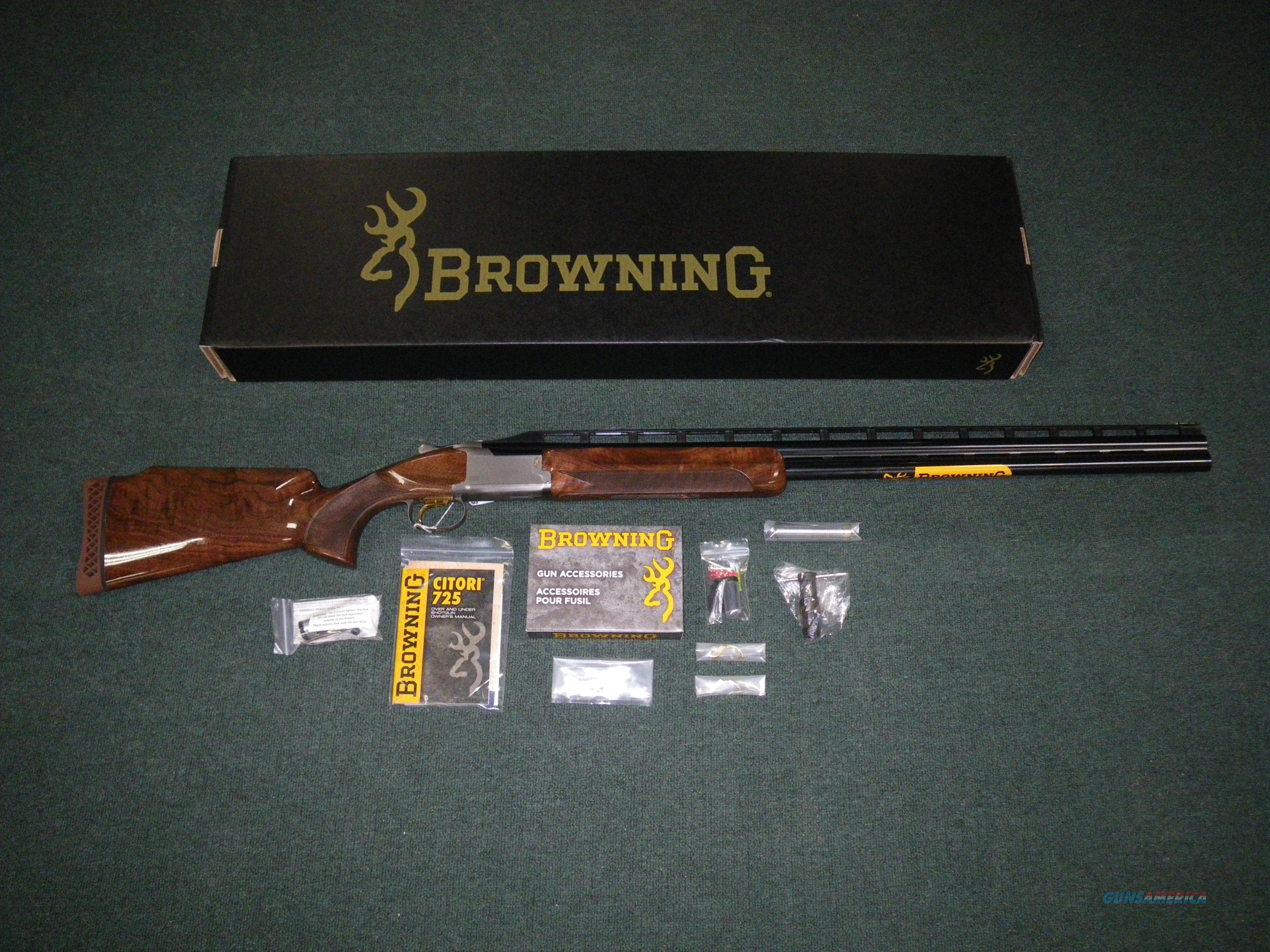 """Browning Citori 725 Trap Over/Under 12ga 30"""" NIB Item #0135793010  Guns > Shotguns > Browning Shotguns > Over Unders > Citori > Hunting"""