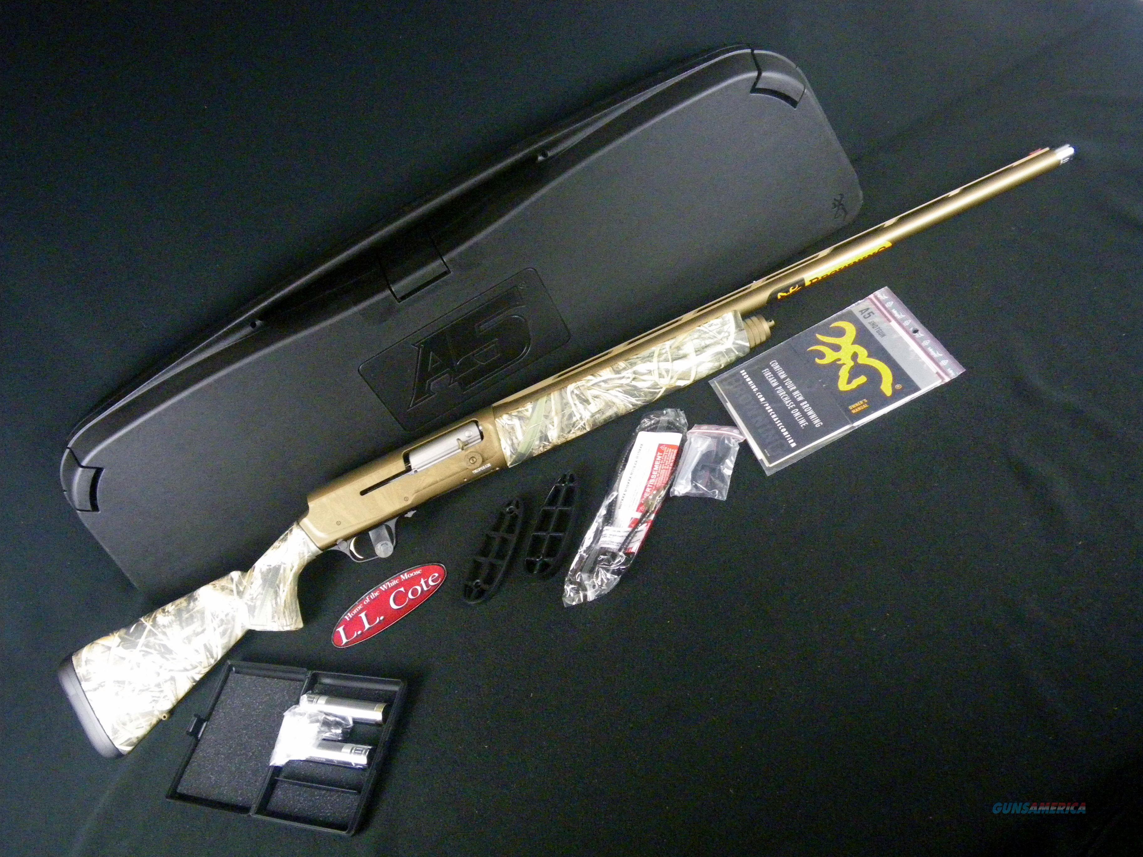 """Browning A5 Wicked Wing 12ga 26"""" Realtree Max-5 NEW 0118422005  Guns > Shotguns > Browning Shotguns > Autoloaders > Hunting"""