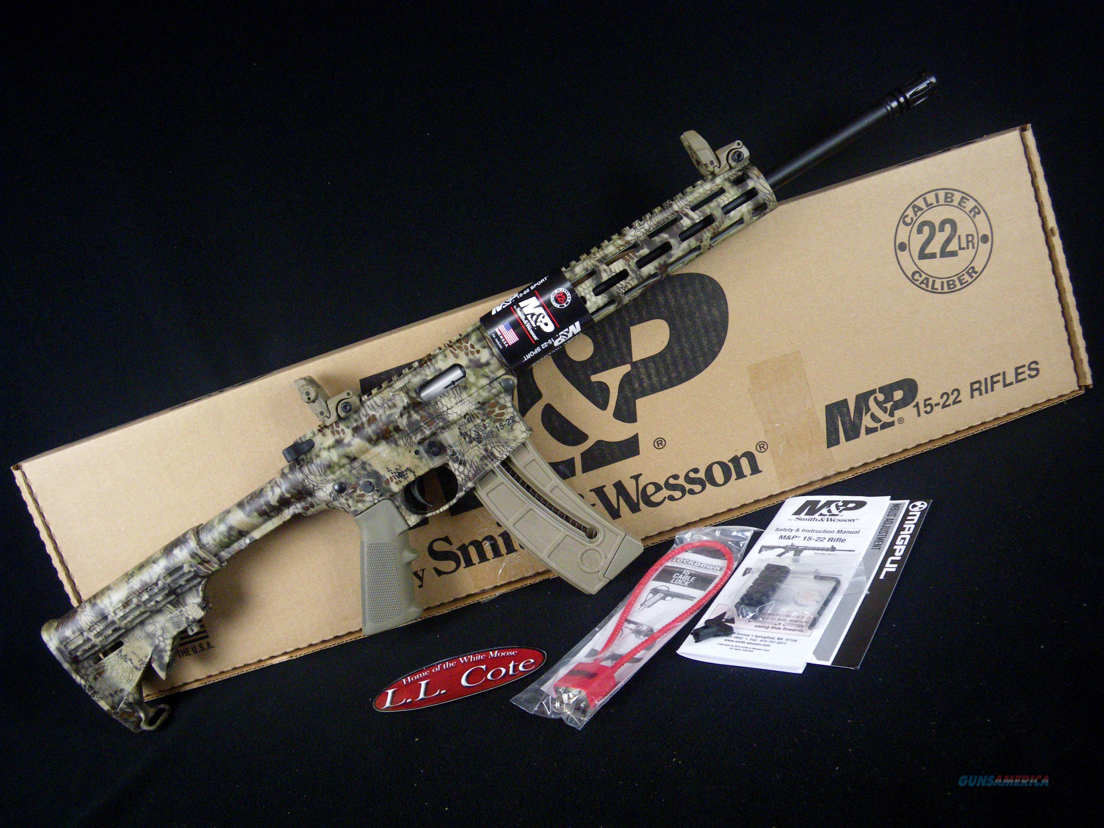 "Smith & Wesson M&P15-22 Sport M-LOK 22lr 16.5"" NEW 10211  Guns > Rifles > Smith & Wesson Rifles > M&P"