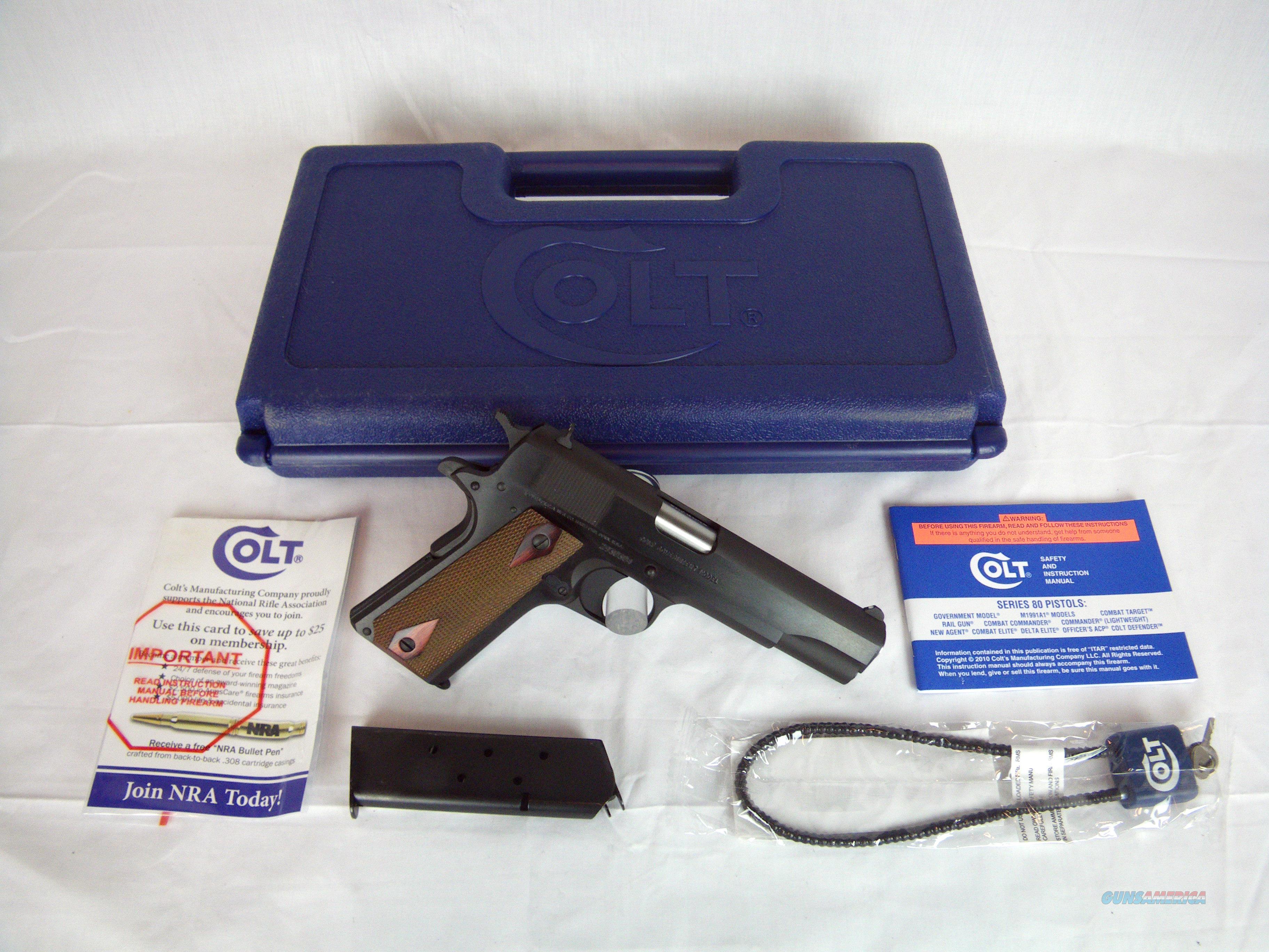 "Colt Government 1991 Series 45ACP 5"" NEW #O1991  Guns > Pistols > Colt Single Action Revolvers - Modern (22 Cal.)"
