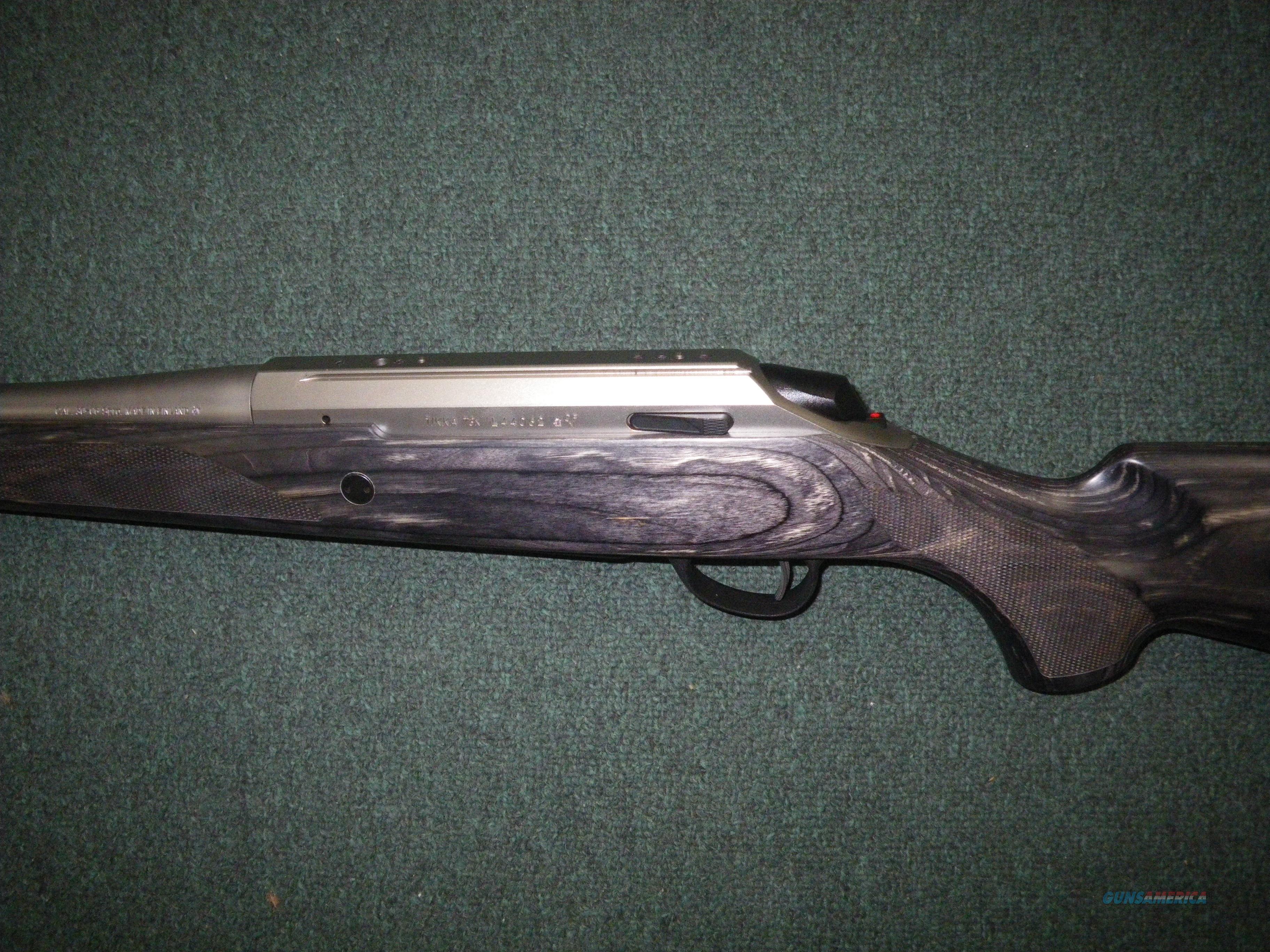 "Tikka T3x Laminated Stainless 260 Rem 22.4"" NEW #JRTXG321  Guns > Rifles > Tikka Rifles > T3"