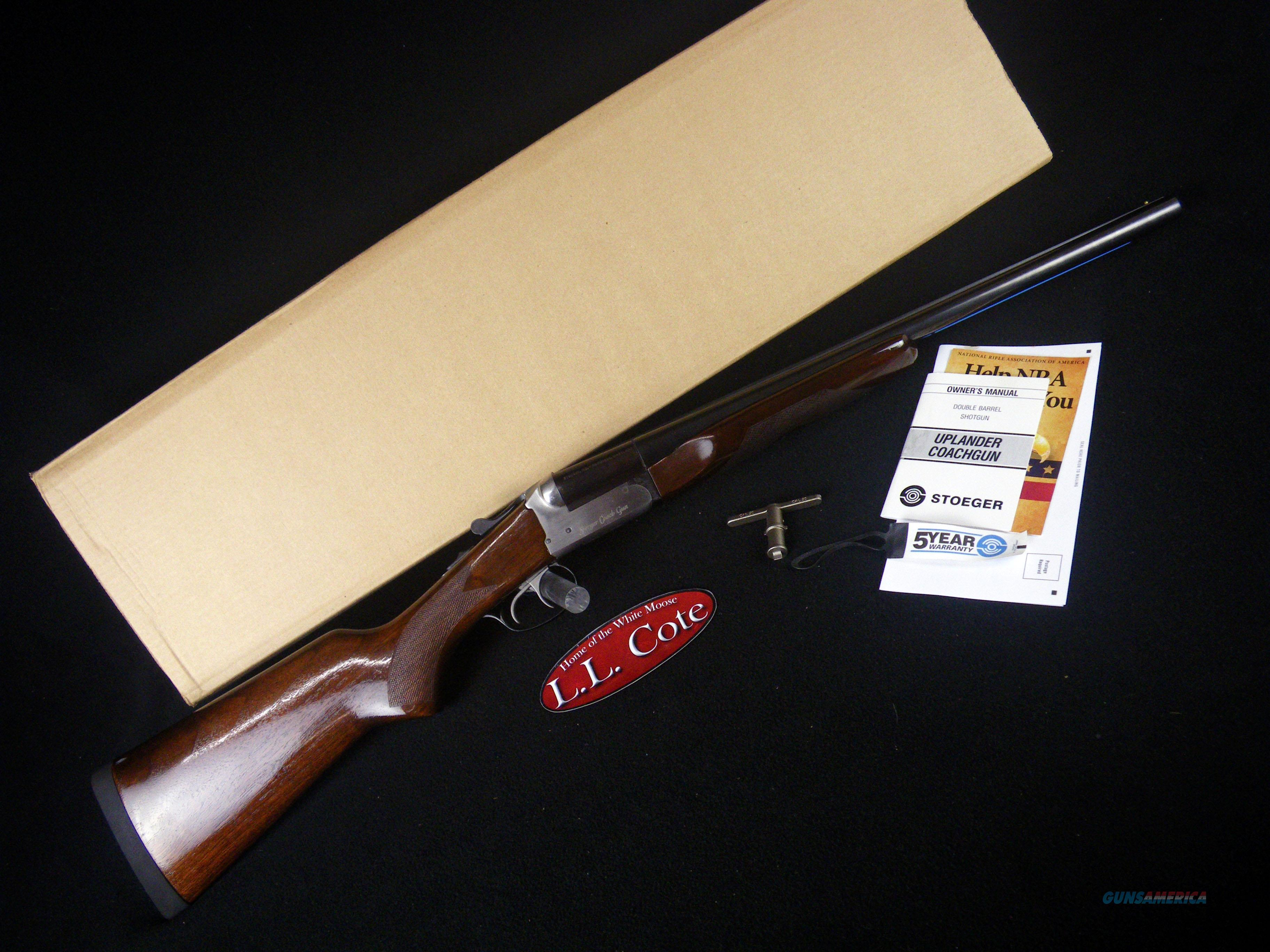 "Stoeger Coach Gun Supreme SS 12ga 20"" NEW 31483  Guns > Shotguns > Stoeger Shotguns"