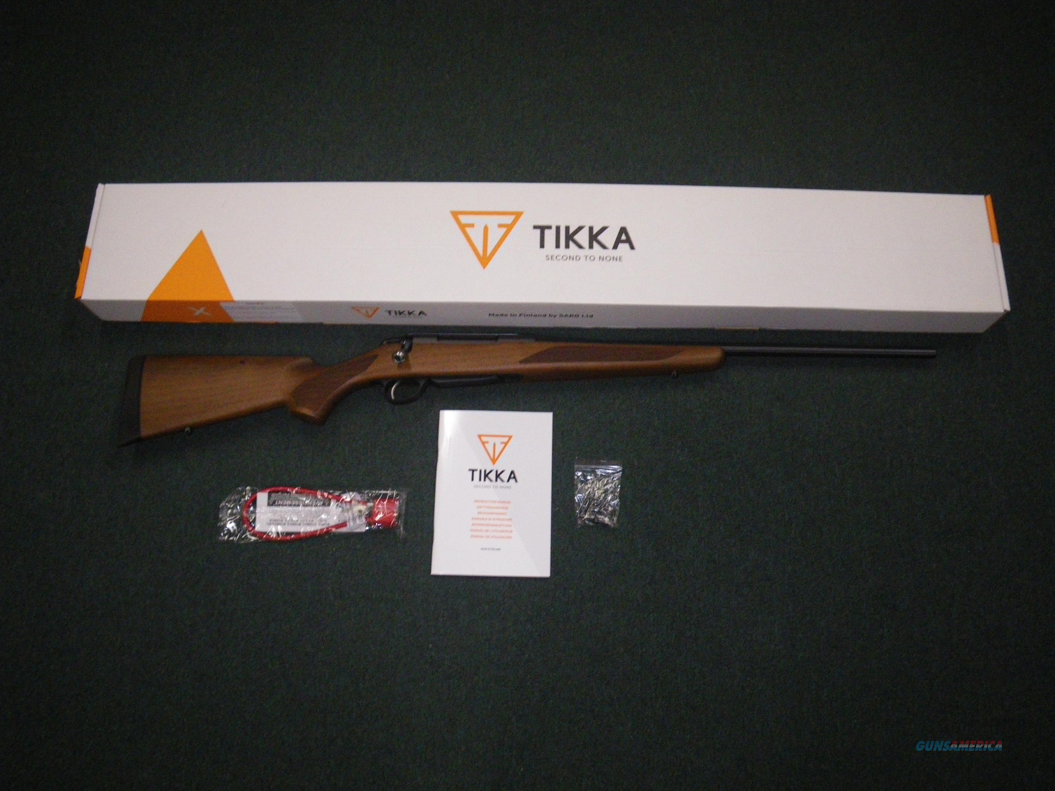 """Tikka T3x Hunter 308 Win 22.4"""" NEW JRTXA316  Guns > Rifles > Tikka Rifles > T3"""