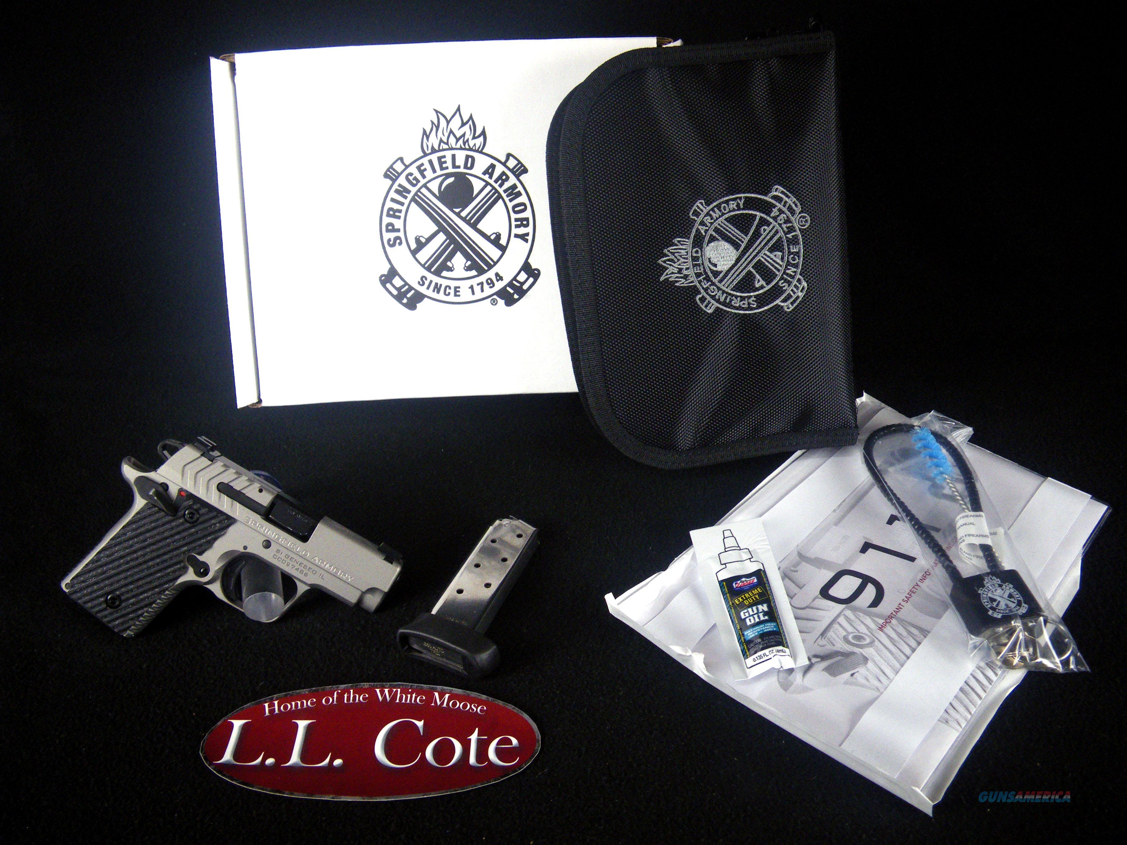 "Springfield 911 380ACP 2.7"" Cerakote NEW PG9109T  Guns > Pistols > Springfield Armory Pistols > 911"