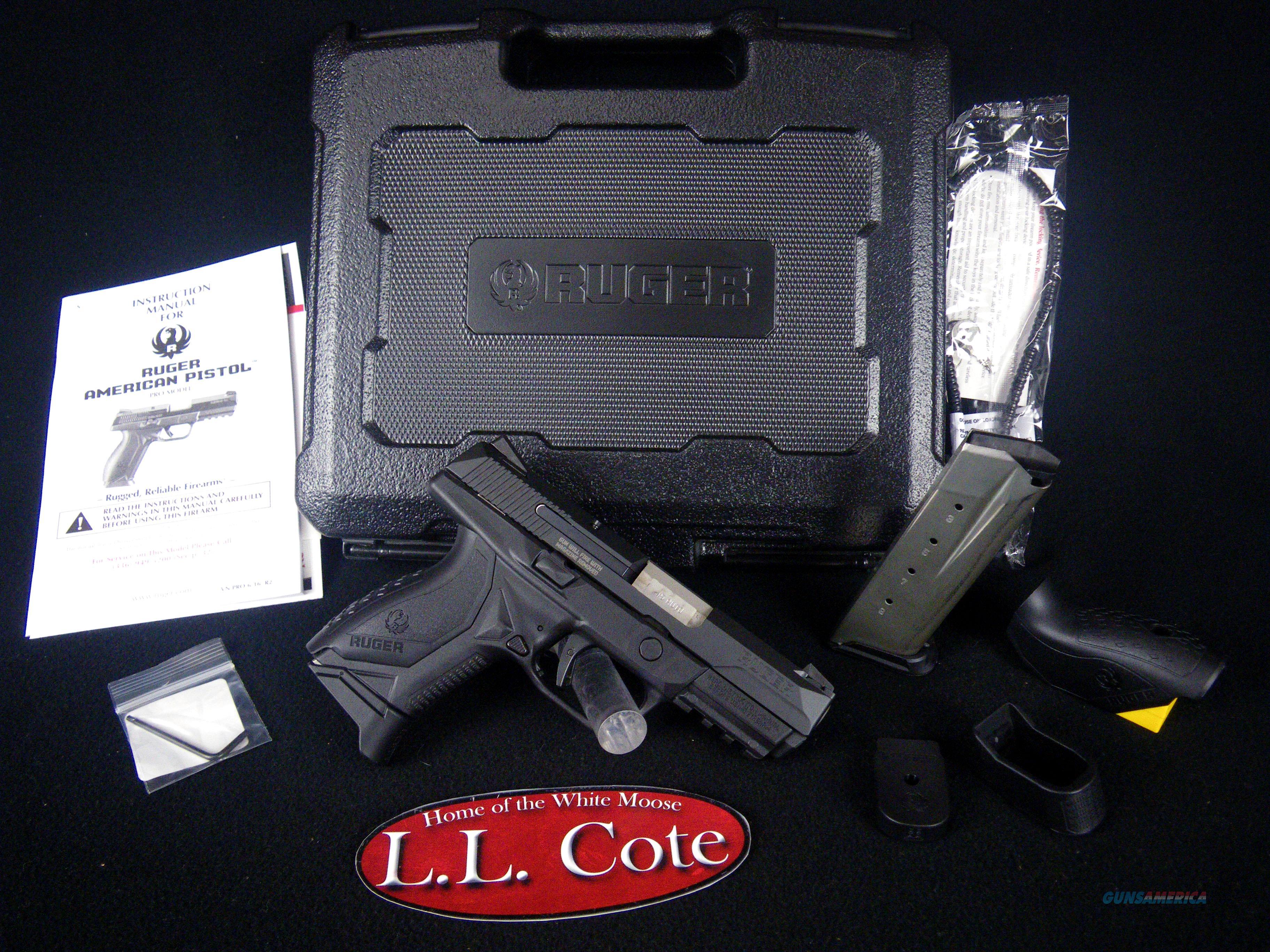 "Ruger American Pistol 45acp 3.75"" Black NEW 8645  Guns > Pistols > Ruger Semi-Auto Pistols > American Pistol"