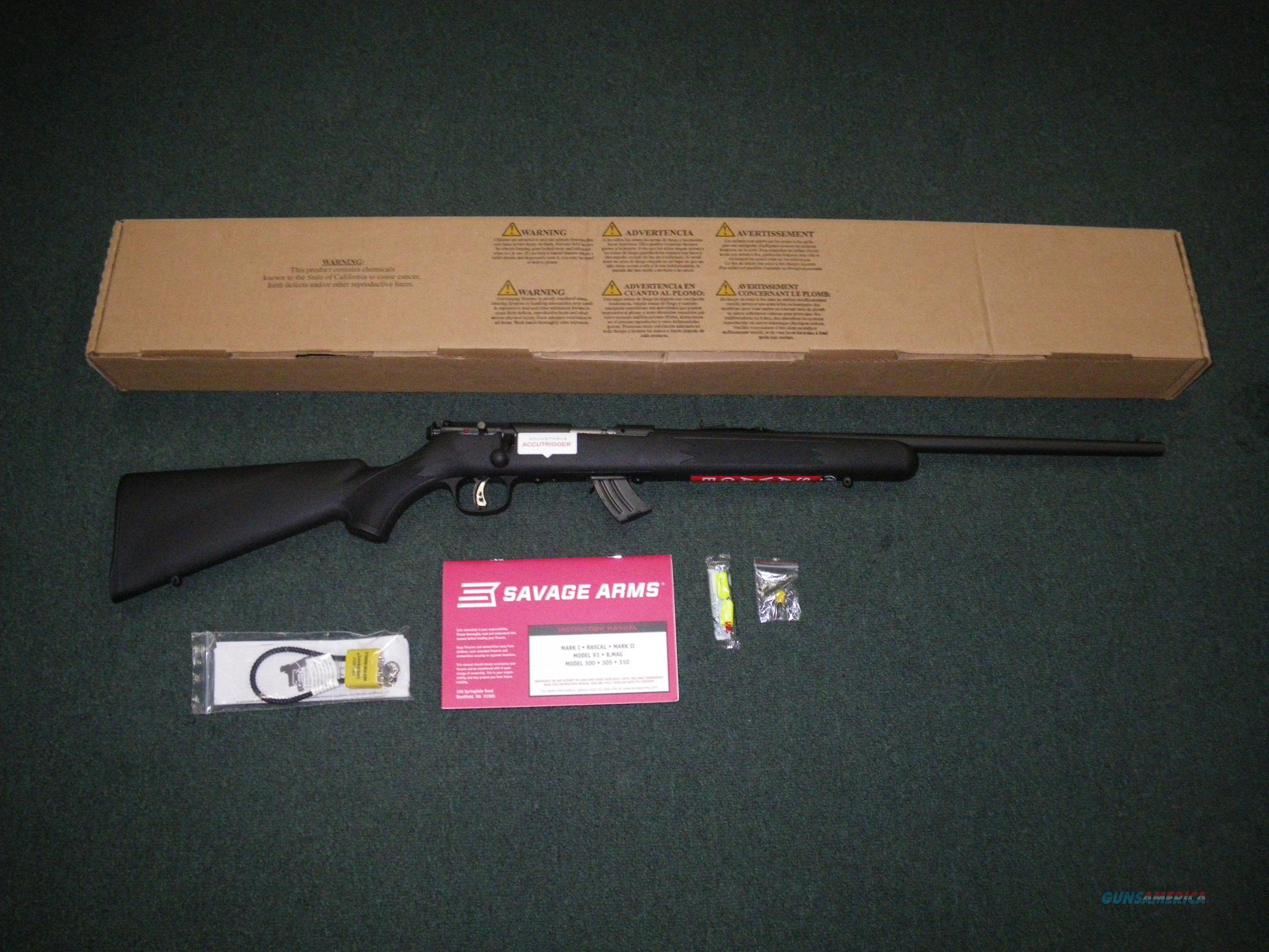 "Savage Mark II F 22lr 21"" NEW Accutrigger #26700  Guns > Rifles > Savage Rifles > Rimfire"