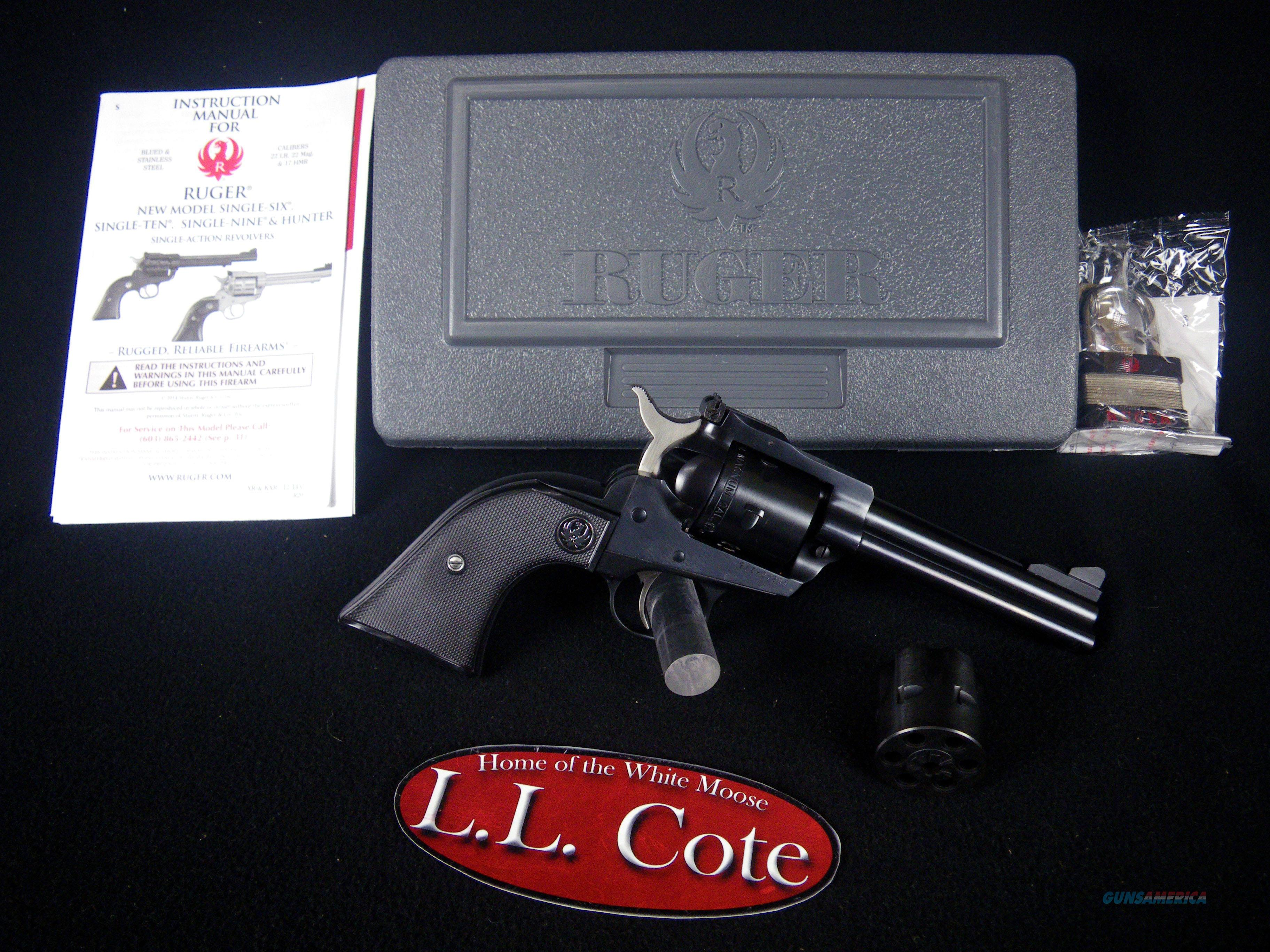 """Ruger Single-Six Convertible 22lr/mag 4.62"""" NEW  Guns > Pistols > Ruger Single Action Revolvers > Single Six Type"""