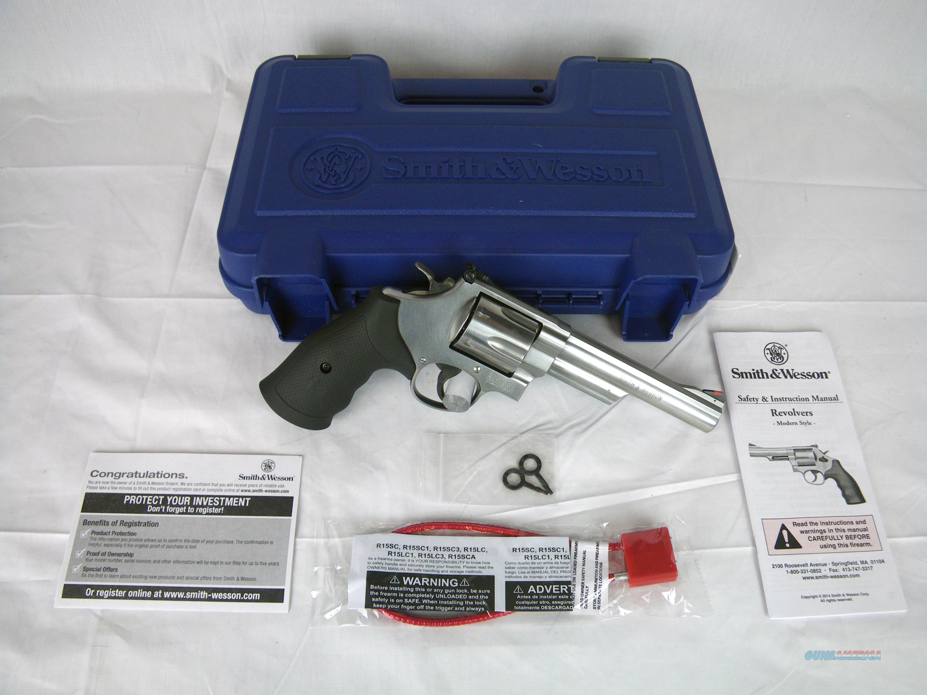 "Smith & Wesson Model 629 .44 Mag 6"" NEW #163606  Guns > Pistols > Smith & Wesson Revolvers > Model 629"