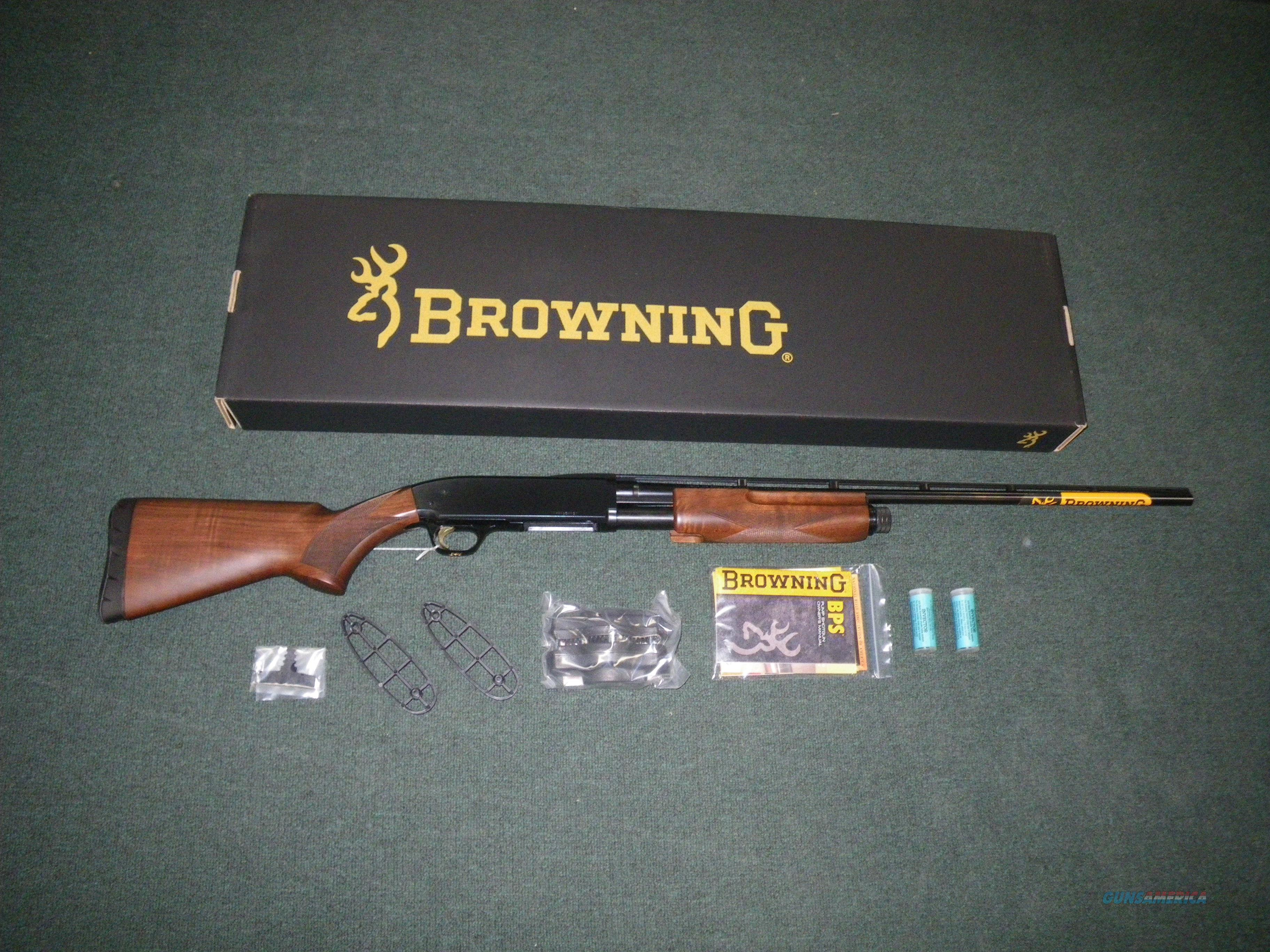 "Browning BPS Micro Midas Wood/Blue 410 24"" NEW 3"" 012270915  Guns > Shotguns > Browning Shotguns > Pump Action > Hunting"