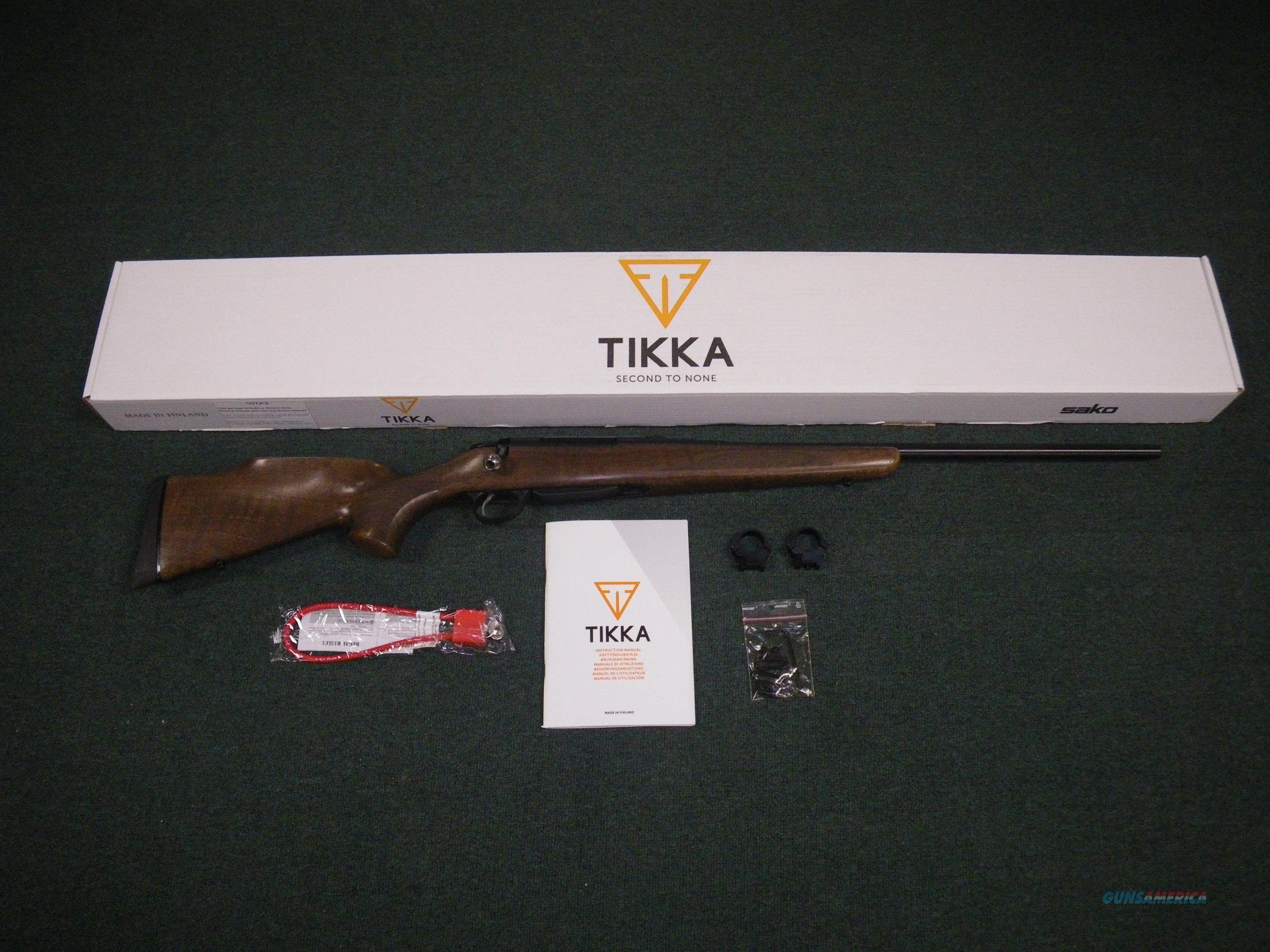 "Tikka T3 Forest Wood/Blue 260 Rem 22.4"" NEW #JRTF621  Guns > Rifles > Tikka Rifles > T3"