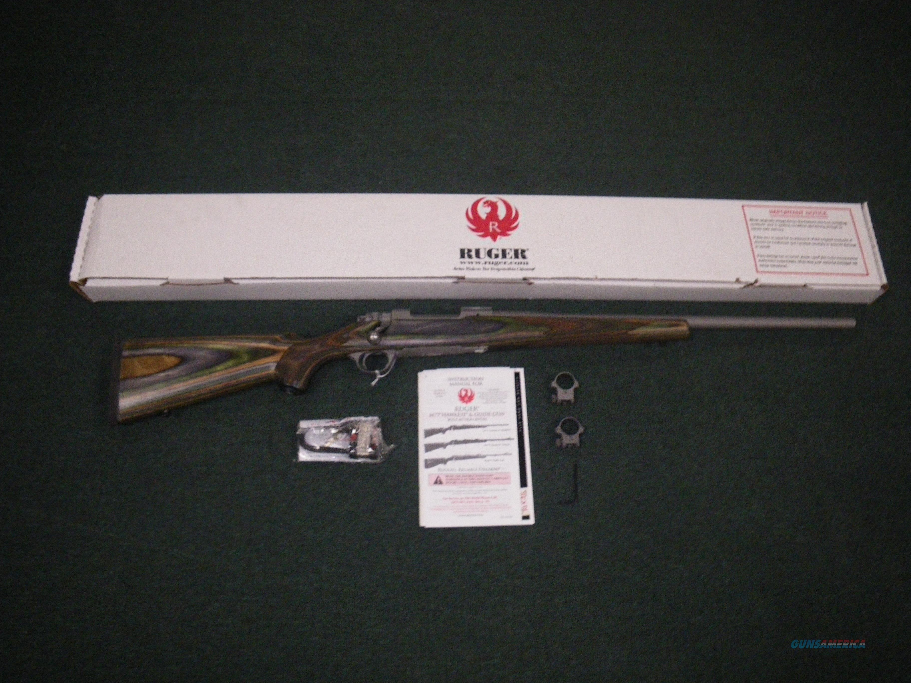 "Ruger Hawkeye Predator Rifle .204 Ruger 22"" NEW SS #17123  Guns > Rifles > Ruger Rifles > Model 77"