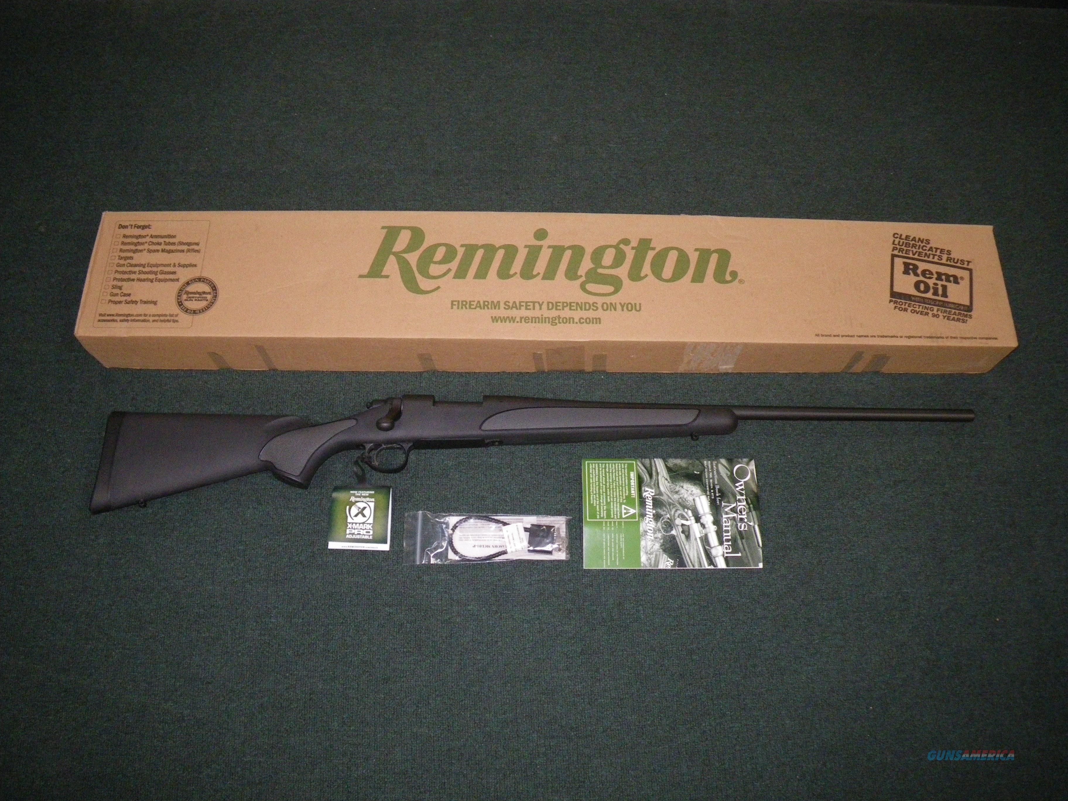 """Remington 700 SPS Matte/Synthetic 300 WSM 24"""" NEW #27333  Guns > Rifles > Remington Rifles - Modern > Model 700 > Sporting"""