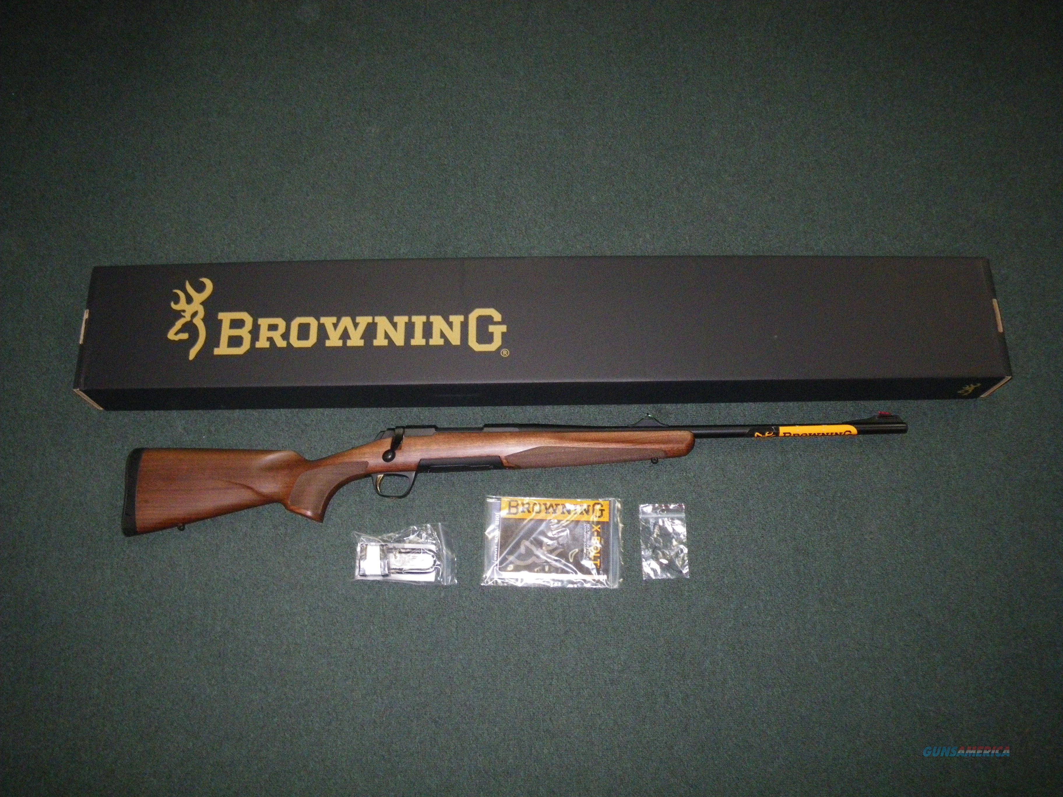 "Browning X-Bolt Hunter Open Sights 308 Win 22"" NEW #035208118  Guns > Rifles > Browning Rifles > Bolt Action > Hunting > Blue"