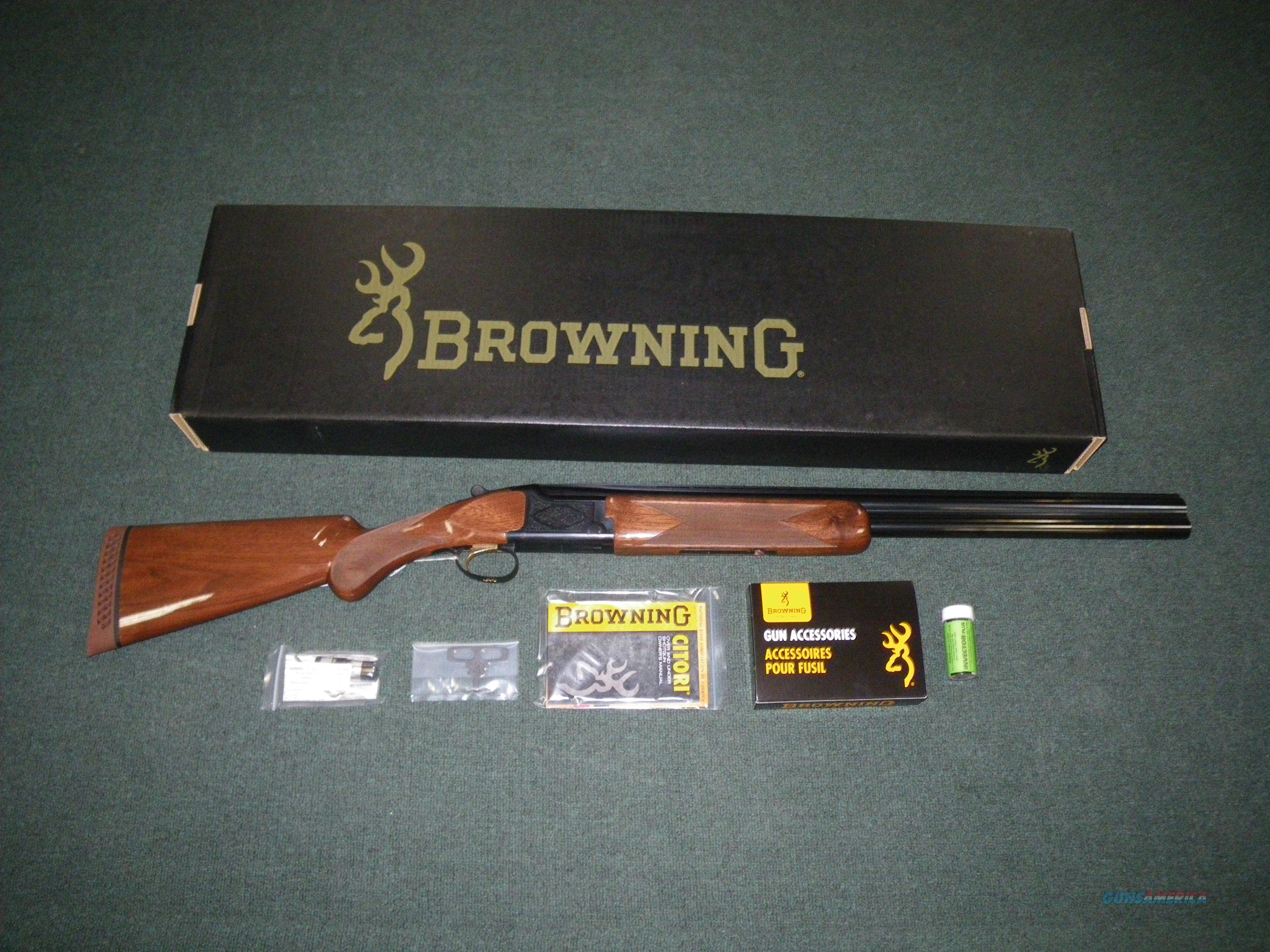 "Browning Citori Lightning 20ga 26"" NEW #013461605  Guns > Shotguns > Browning Shotguns > Over Unders > Citori > Hunting"