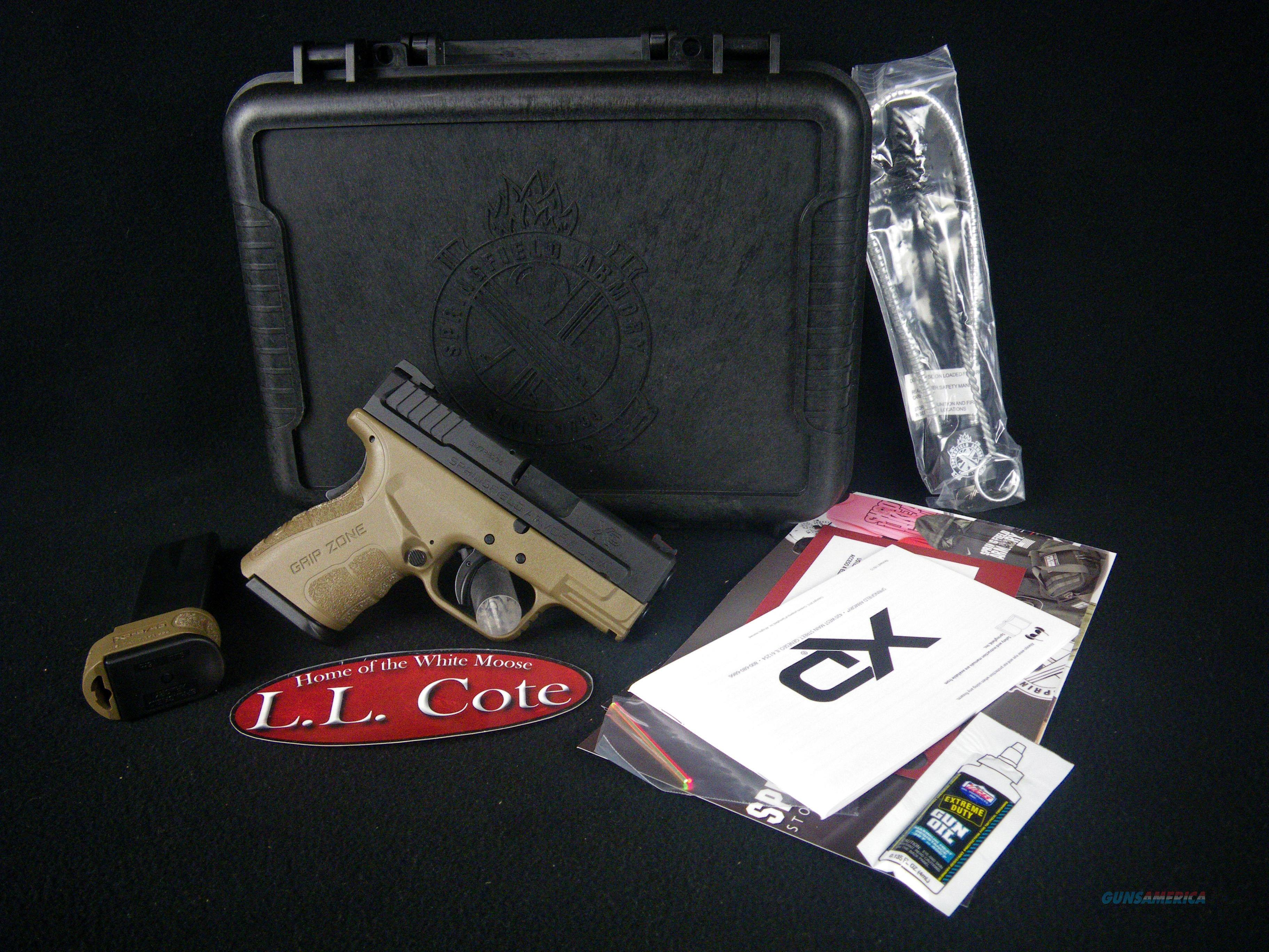"Springfield XD Mod.2 Sub-Compact FDE 9mm 3"" NEW XDG9801FDEHC  Guns > Pistols > Springfield Armory Pistols > XD (eXtreme Duty)"