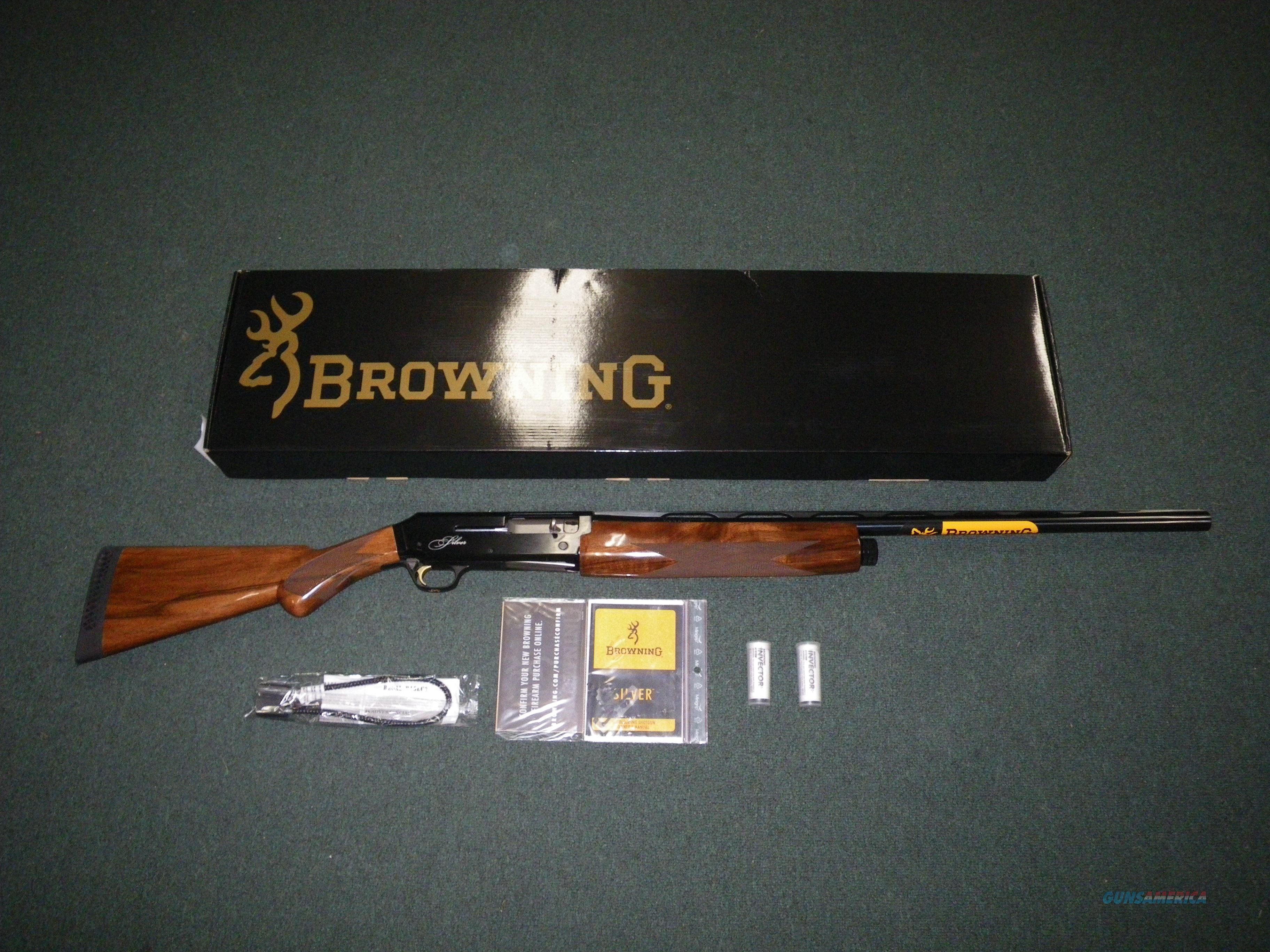 "Browning Silver Black Lightning 12ga 26"" NEW 3"" 011415305  Guns > Shotguns > Browning Shotguns > Autoloaders > Hunting"