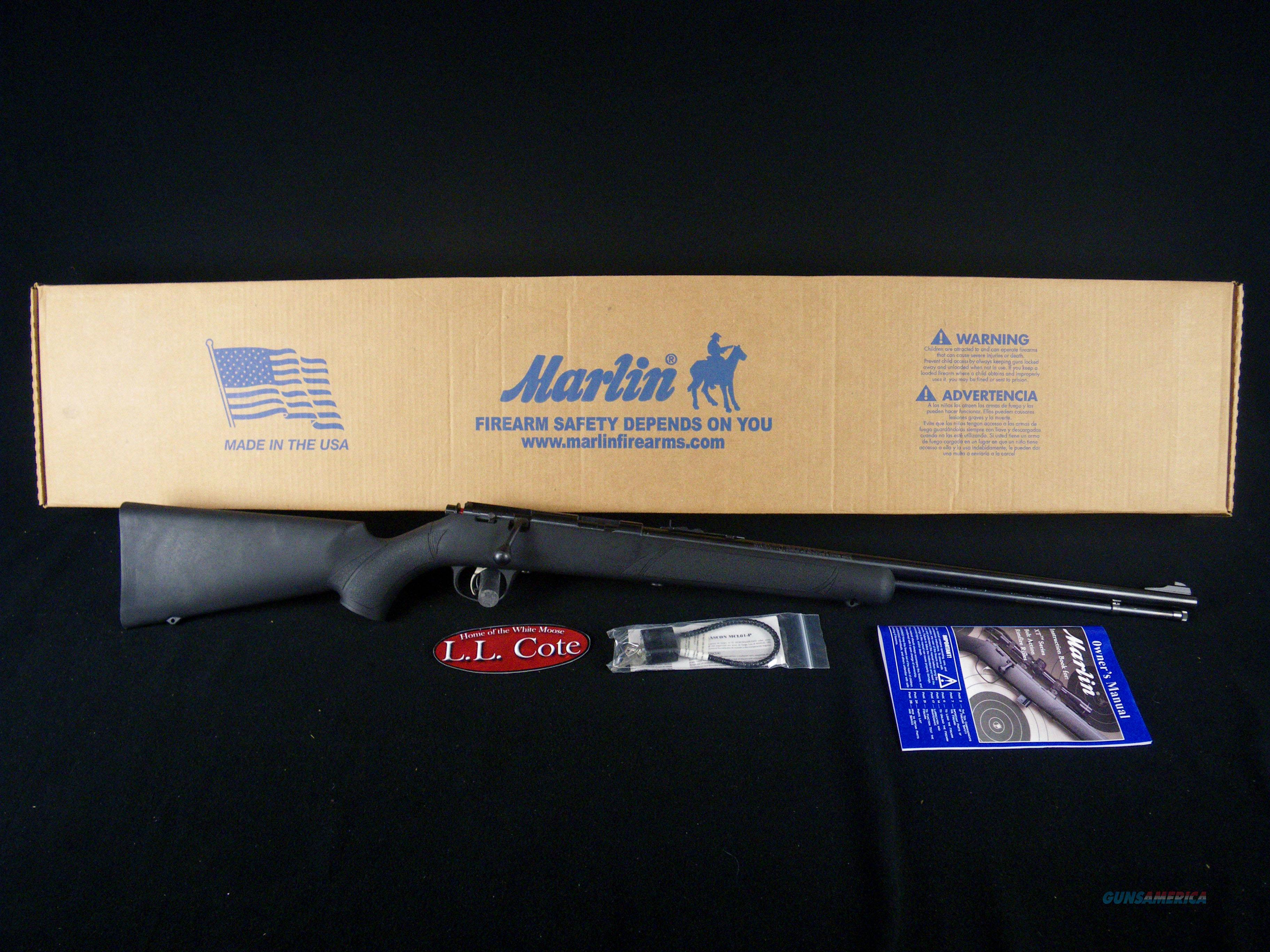 "Marlin XT-22TR 22 S/L/LR 22"" Black/Syn NEW 70821  Guns > Rifles > Marlin Rifles > Modern > Bolt/Pump"