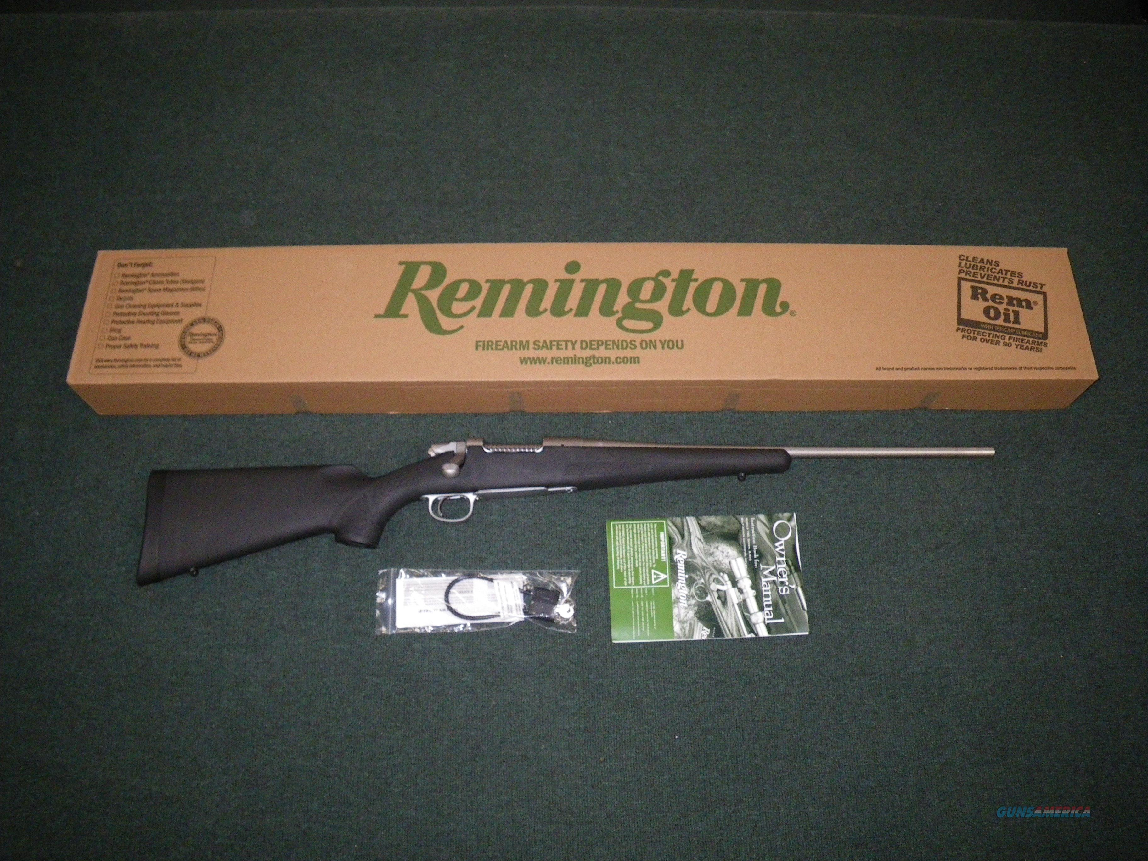 "Remington Model Seven 308 Win 20"" Stainless NEW #24743  Guns > Rifles > Remington Rifles - Modern > Bolt Action Non-Model 700 > Sporting"