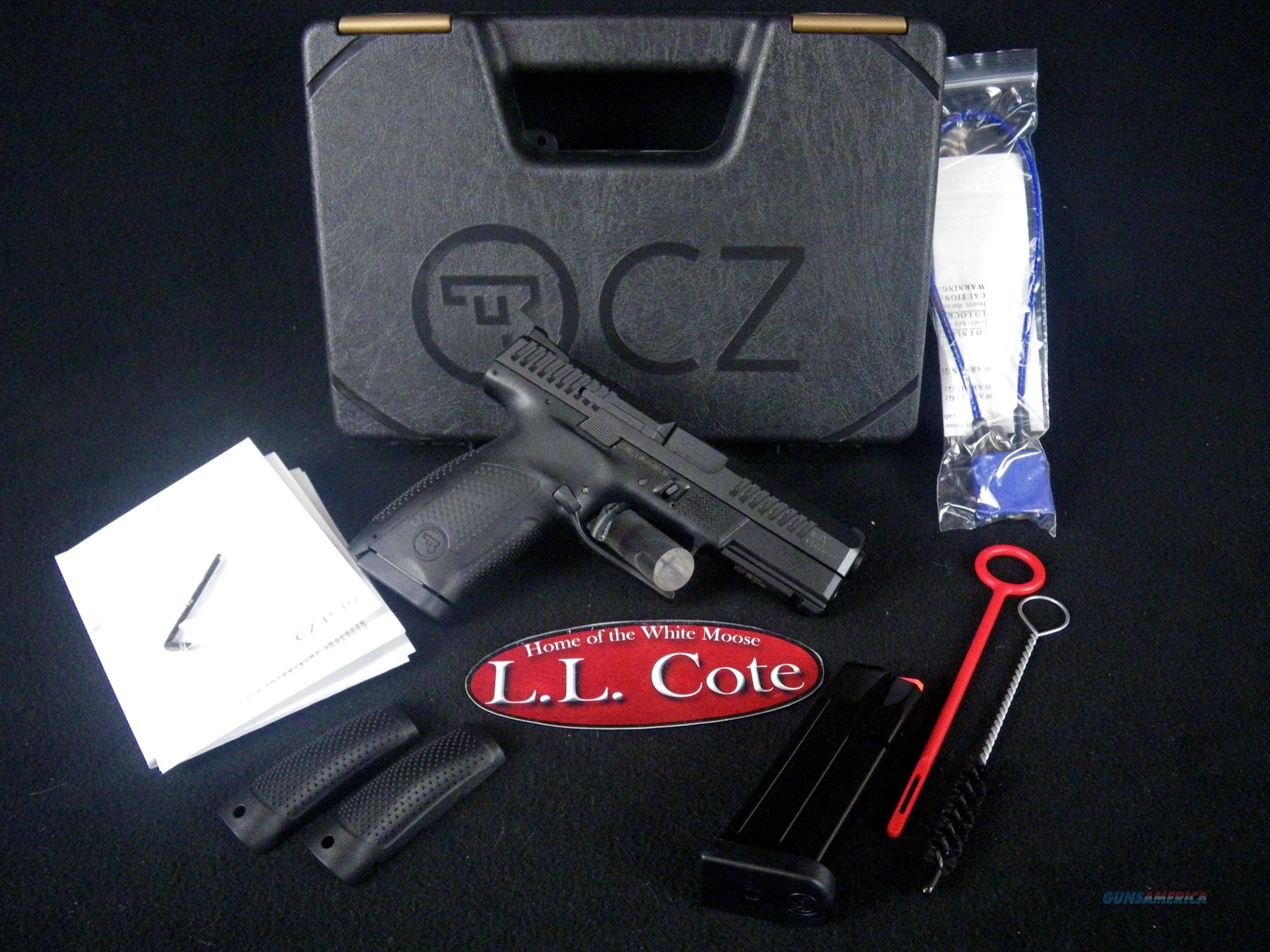 "CZ P-10 C Polymer 9mm 4.02"" Matte Black NEW 91520  Guns > Pistols > CZ Pistols"