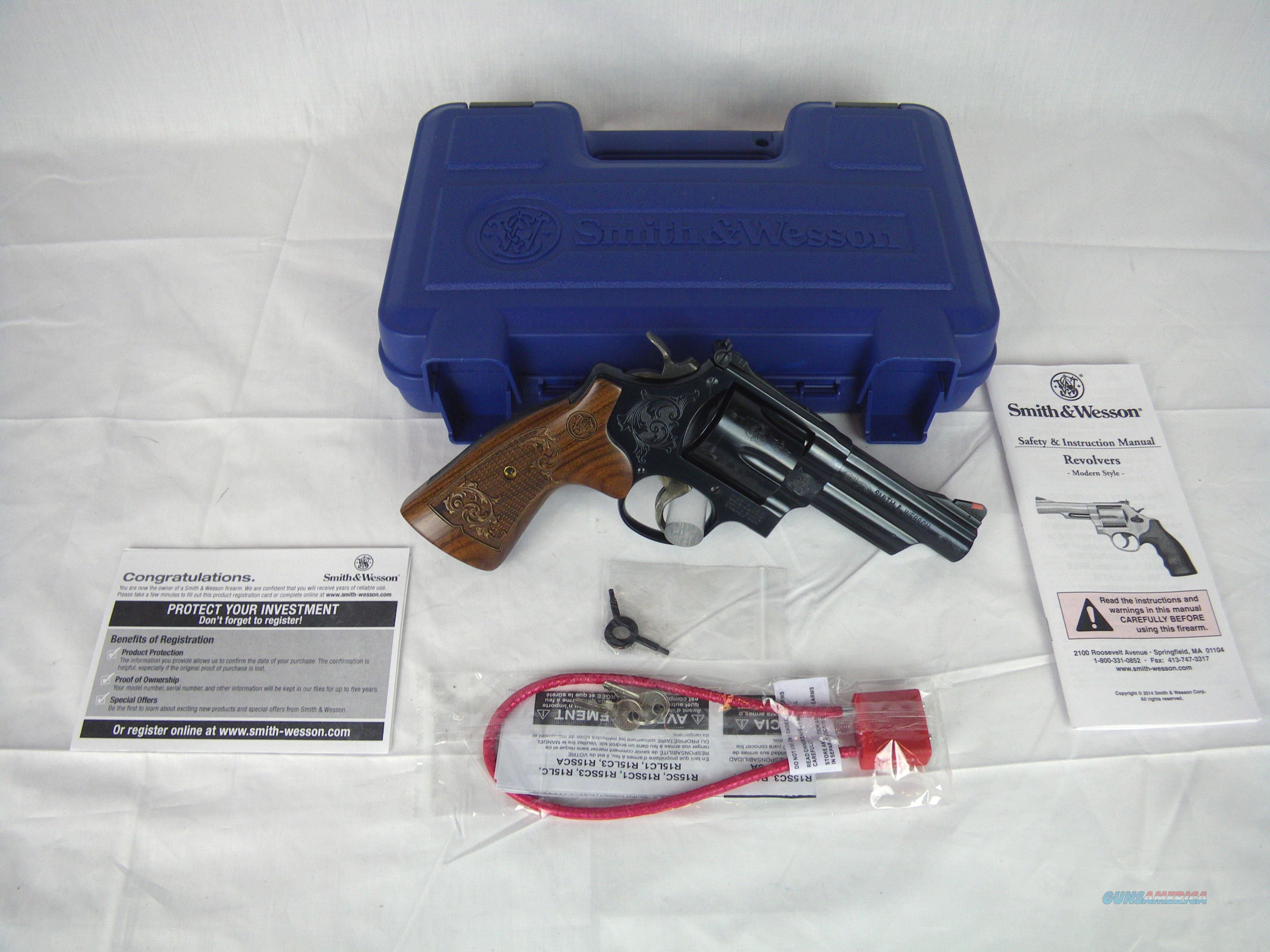 "Smith & Wesson Model 29 Engraved S&W 44 Mag 4"" NEW #150783  Guns > Pistols > Smith & Wesson Revolvers > Full Frame Revolver"
