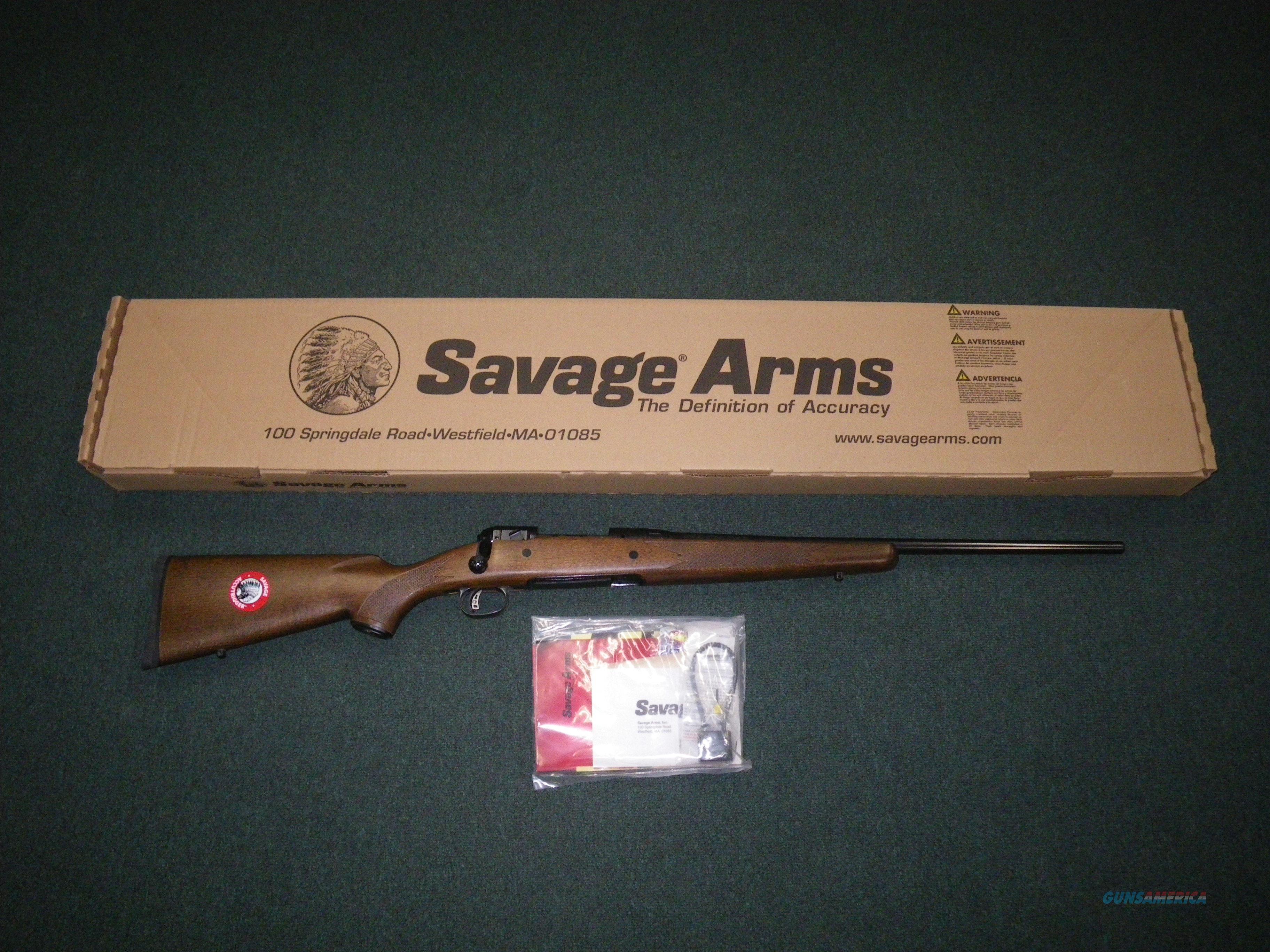 "Savage 11GCNS Hunter 308 Win 22"" Accutrigger NEW #17834  Guns > Rifles > Savage Rifles > 11/111"