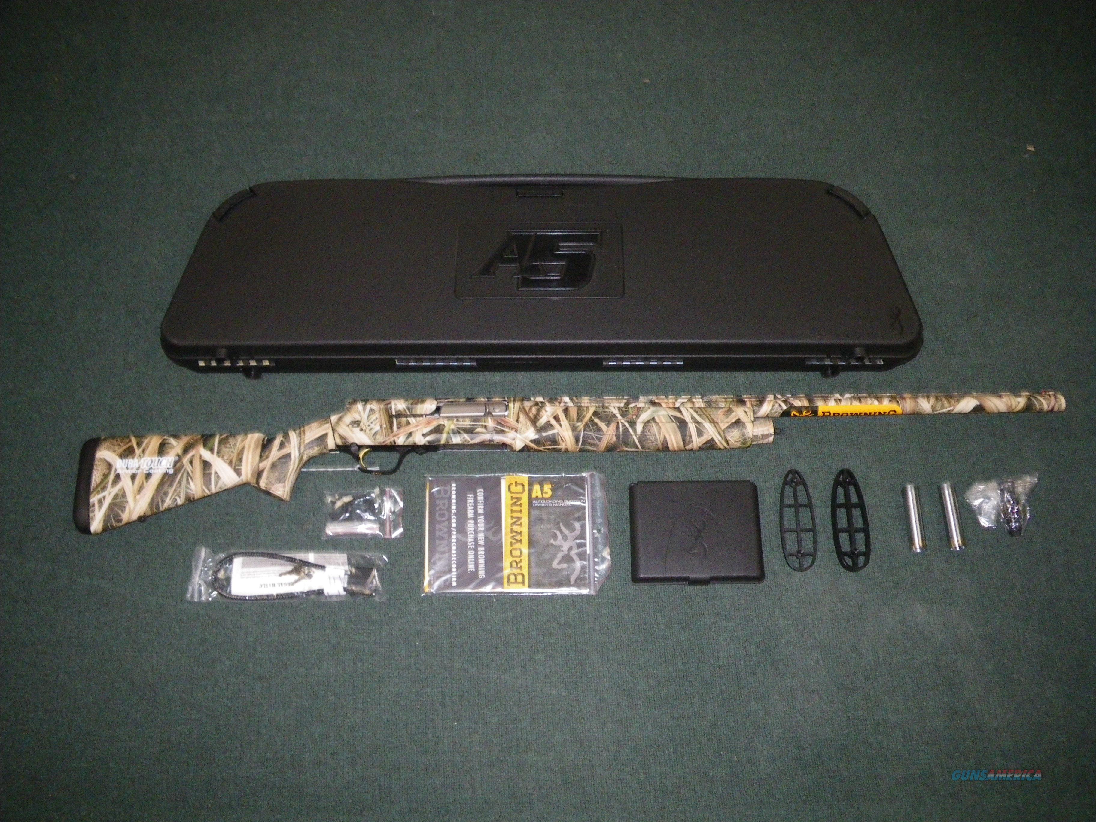 "Browning A5 Mossy Oak Shdw Grass 12ga 26"" NEW 3.5"" #0118182005  Guns > Shotguns > Browning Shotguns > Autoloaders > Hunting"
