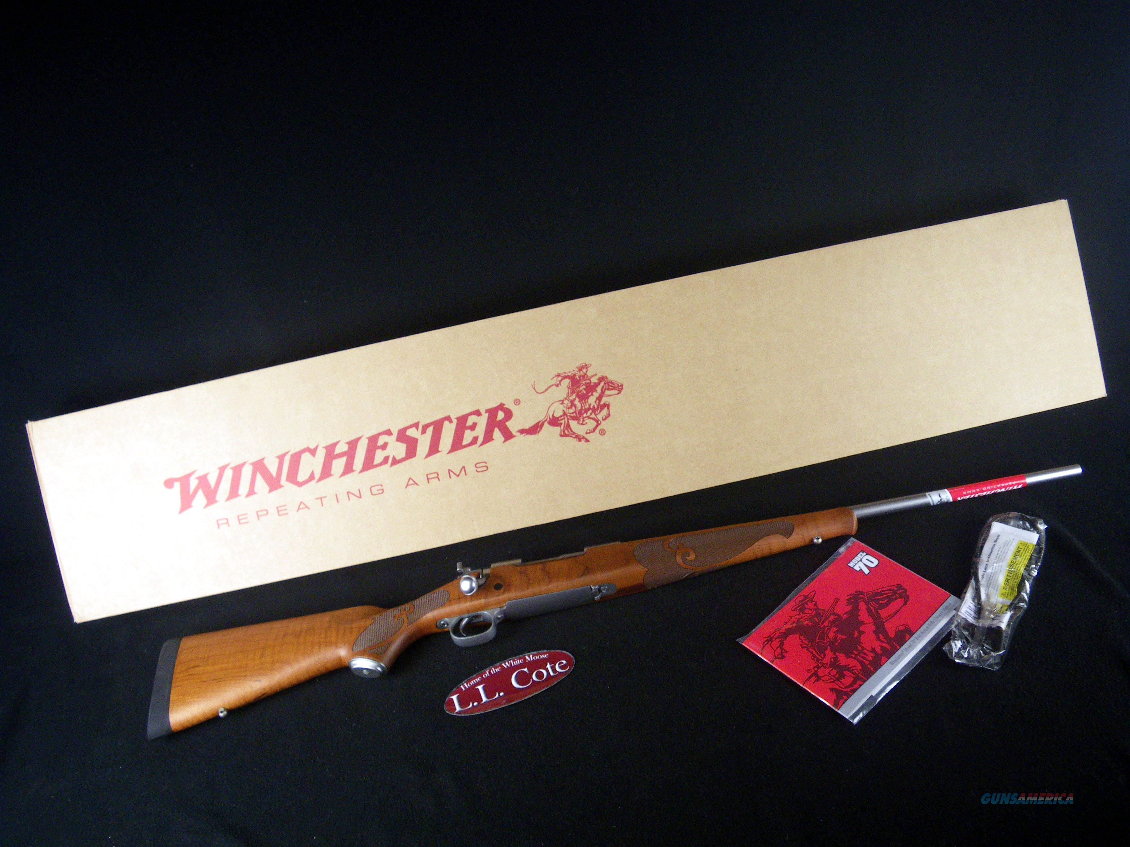 "Winchester 70 Featherweight Stainless 30-06 Spfld 22"" 535234228  Guns > Rifles > Winchester Rifles - Modern Bolt/Auto/Single > Model 70 > Post-64"