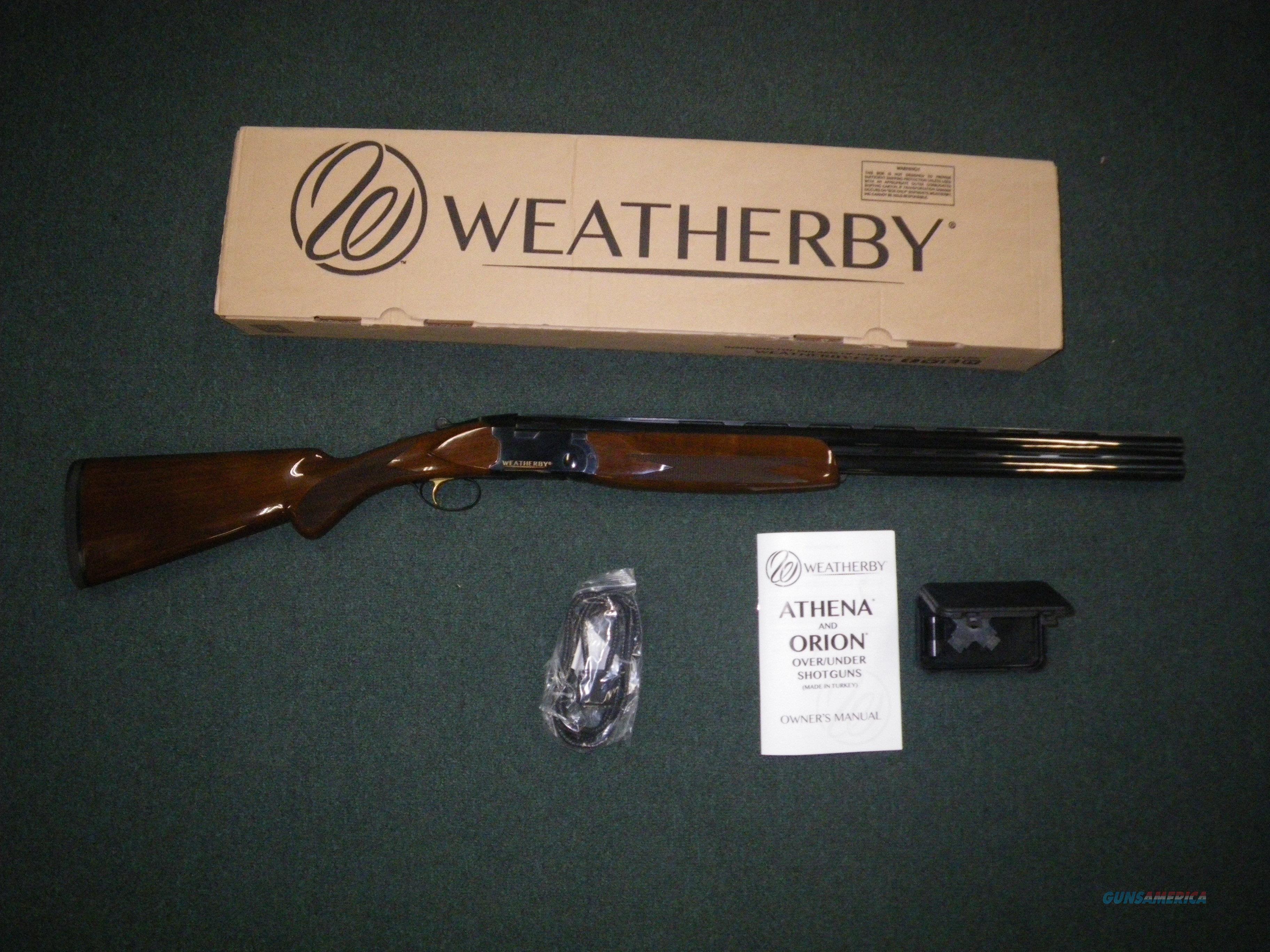 "Weatherby Orion I 12ga 28"" Barrel 3"" Chamber NEW OR11228RGG  Guns > Shotguns > Weatherby Shotguns > Hunting > O/U"