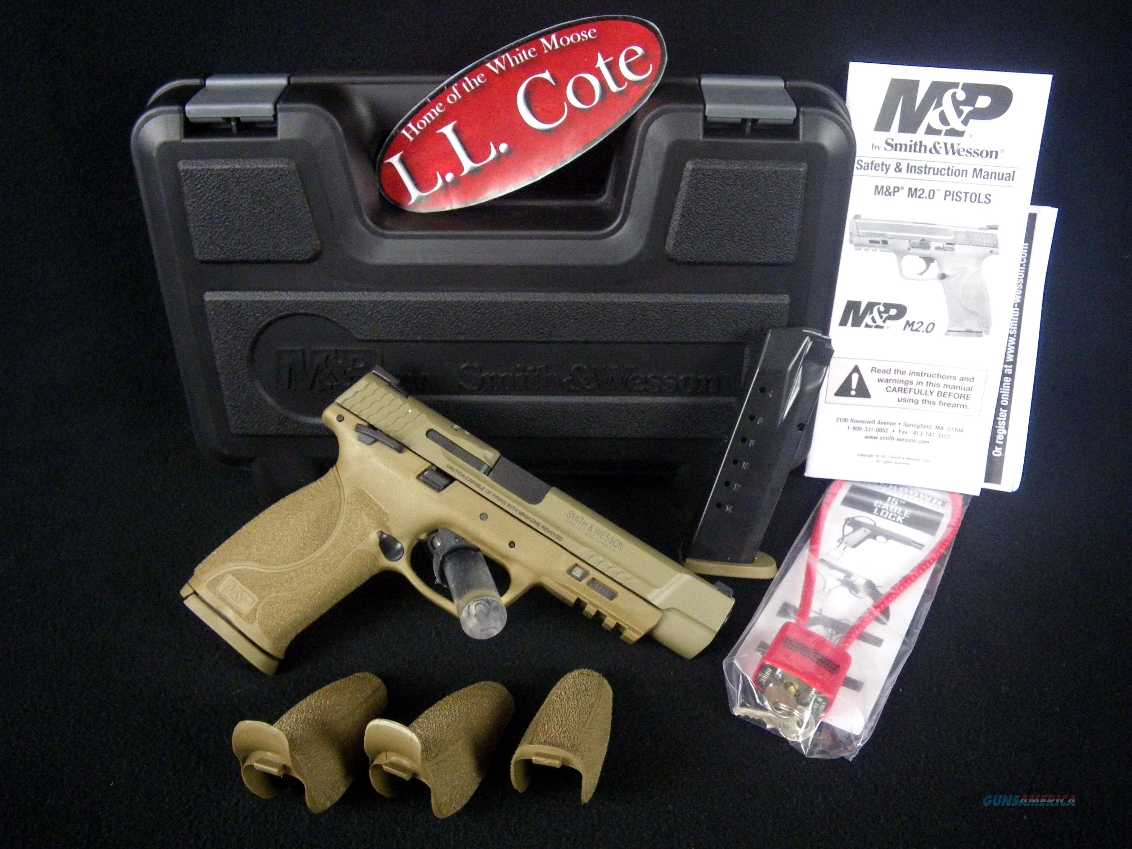 "Smith & Wesson M&P40 M2.0 40S&W 5"" Armornite NEW 11595  Guns > Pistols > Smith & Wesson Pistols - Autos > Polymer Frame"