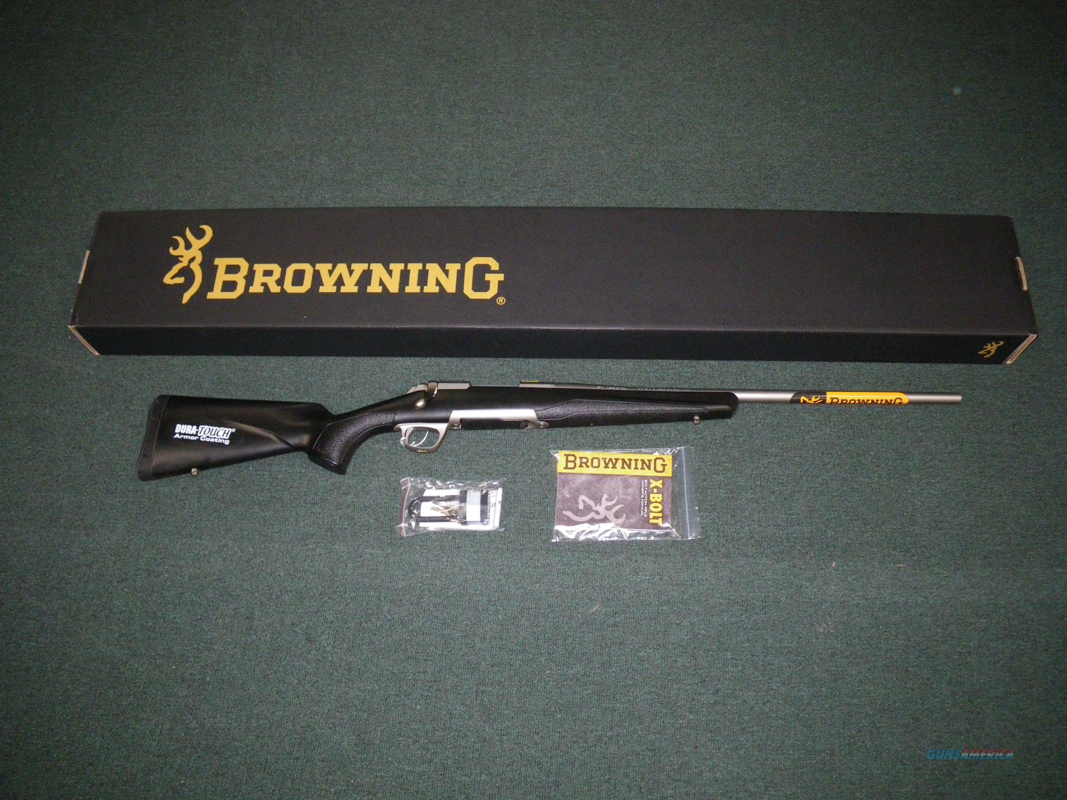 "Browning X-Bolt Stainless Stalker 270 Win 22"" NIB #035202224  Guns > Rifles > Browning Rifles > Bolt Action > Hunting > Stainless"