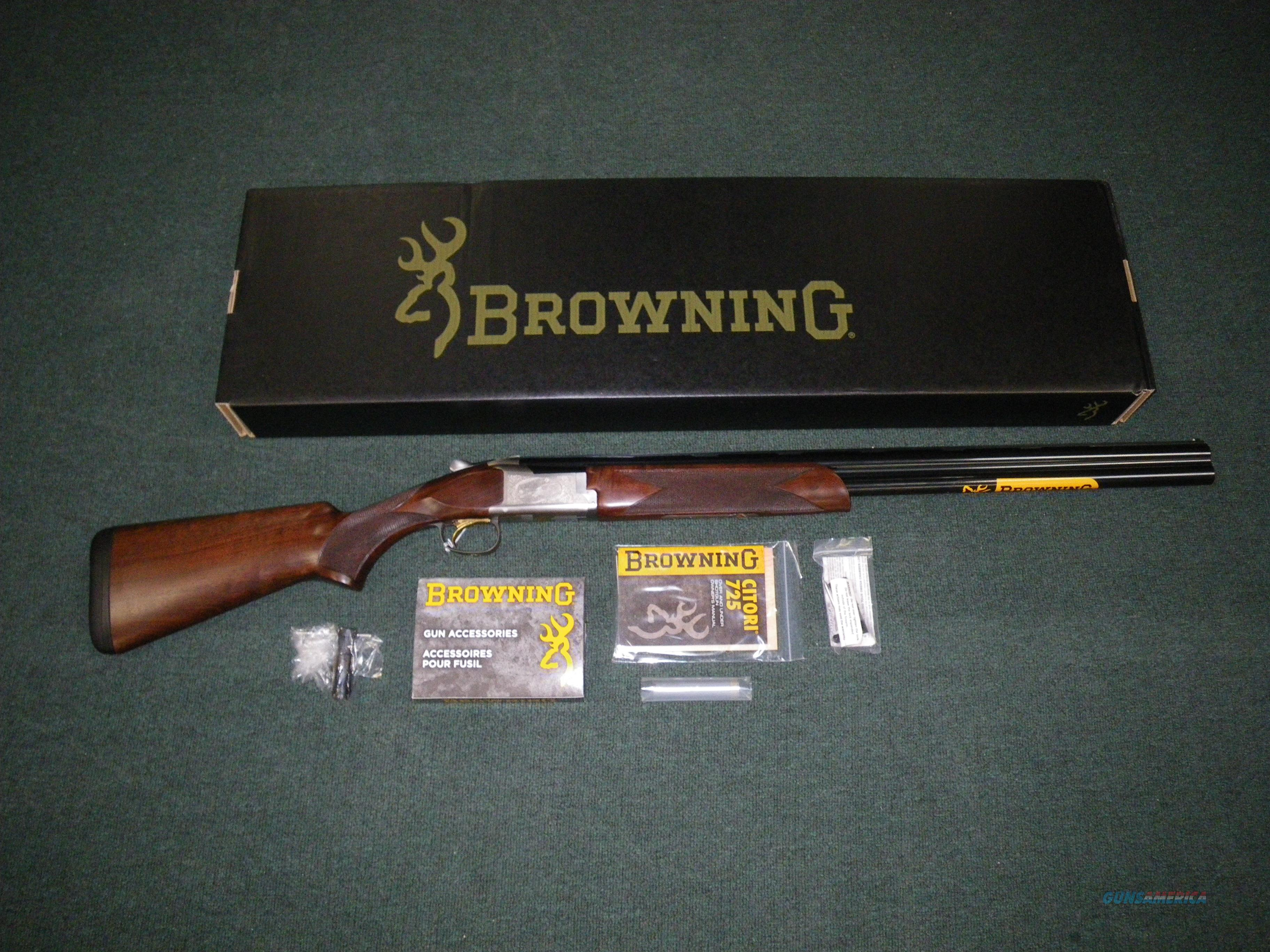 "Browning Citori 725 Feather Shotgun 20ga 26"" NIB #0135666005  Guns > Shotguns > Browning Shotguns > Over Unders > Citori > Hunting"