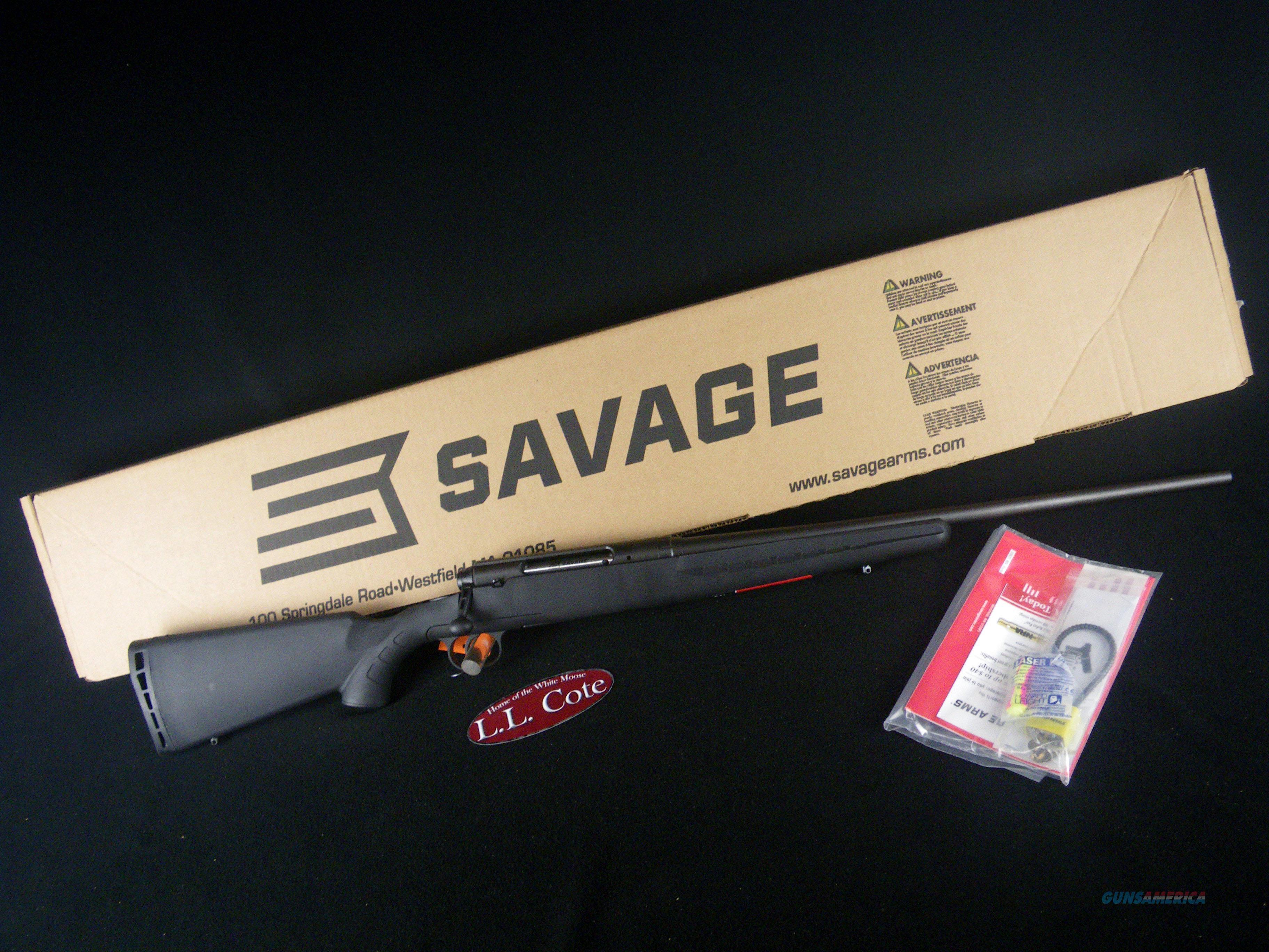 "Savage Axis 308 Win 22"" Synthetic NEW 19223  Guns > Rifles > Savage Rifles > Axis"