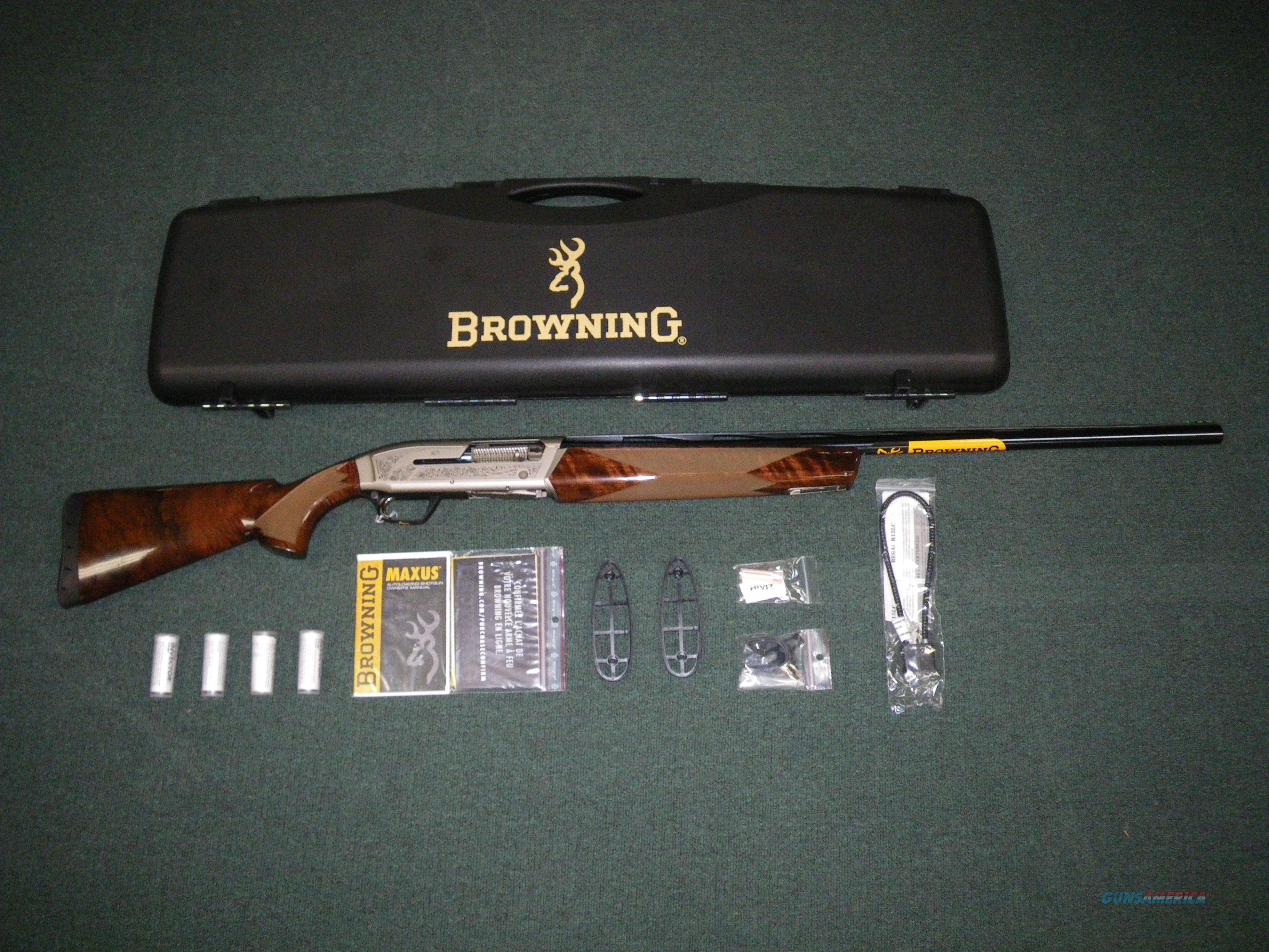 """Browning Maxus Sporting Clays 12ga 30"""" 3"""" Chamber #011616303  Guns > Shotguns > Browning Shotguns > Autoloaders > Hunting"""