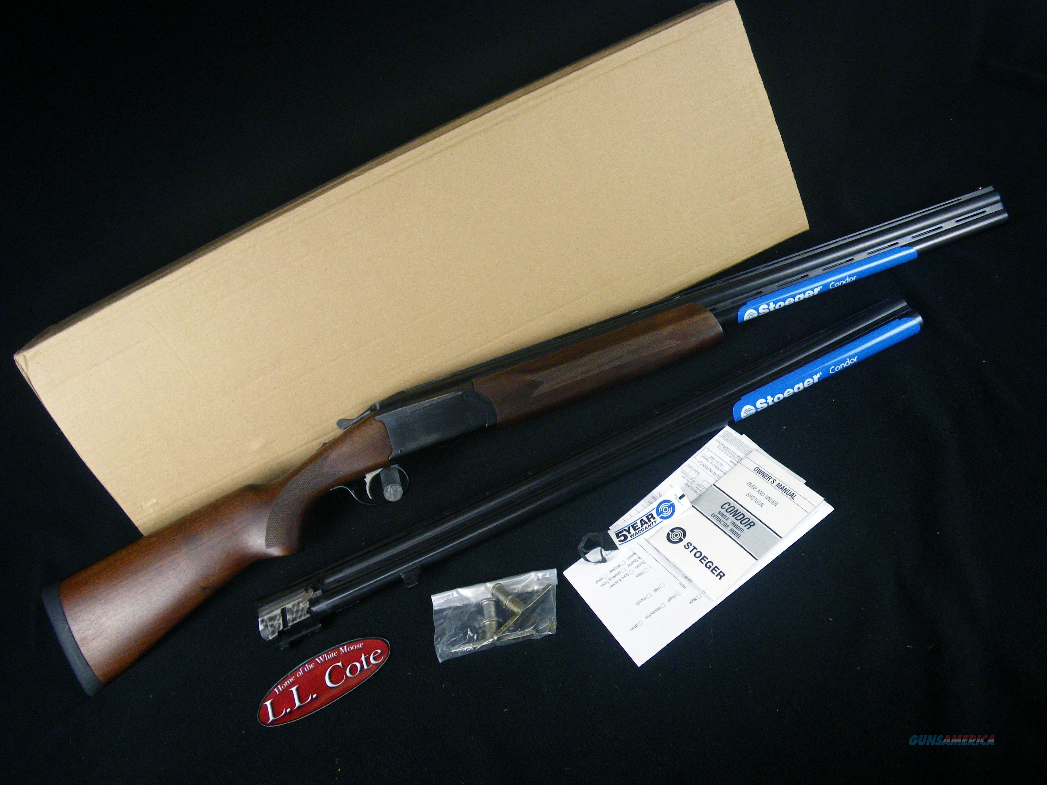 "Stoeger Condor Field Combo 12/20ga 28""26"" NEW 31041  Guns > Shotguns > Stoeger Shotguns"