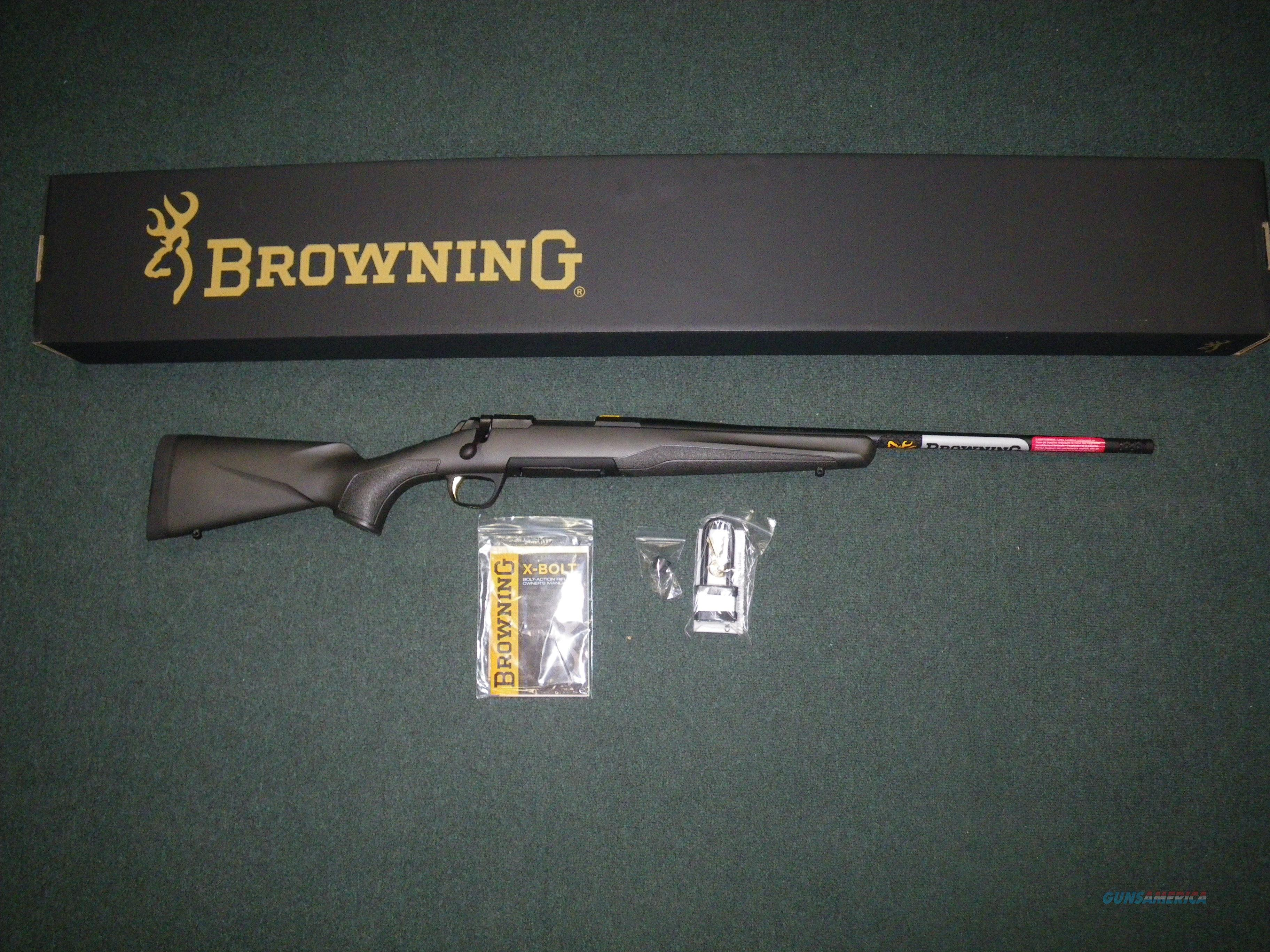 "Browning X-Bolt Micro Composite 7mm-08 Rem 20"" NEW #035440216  Guns > Rifles > Browning Rifles > Bolt Action > Hunting > Blue"