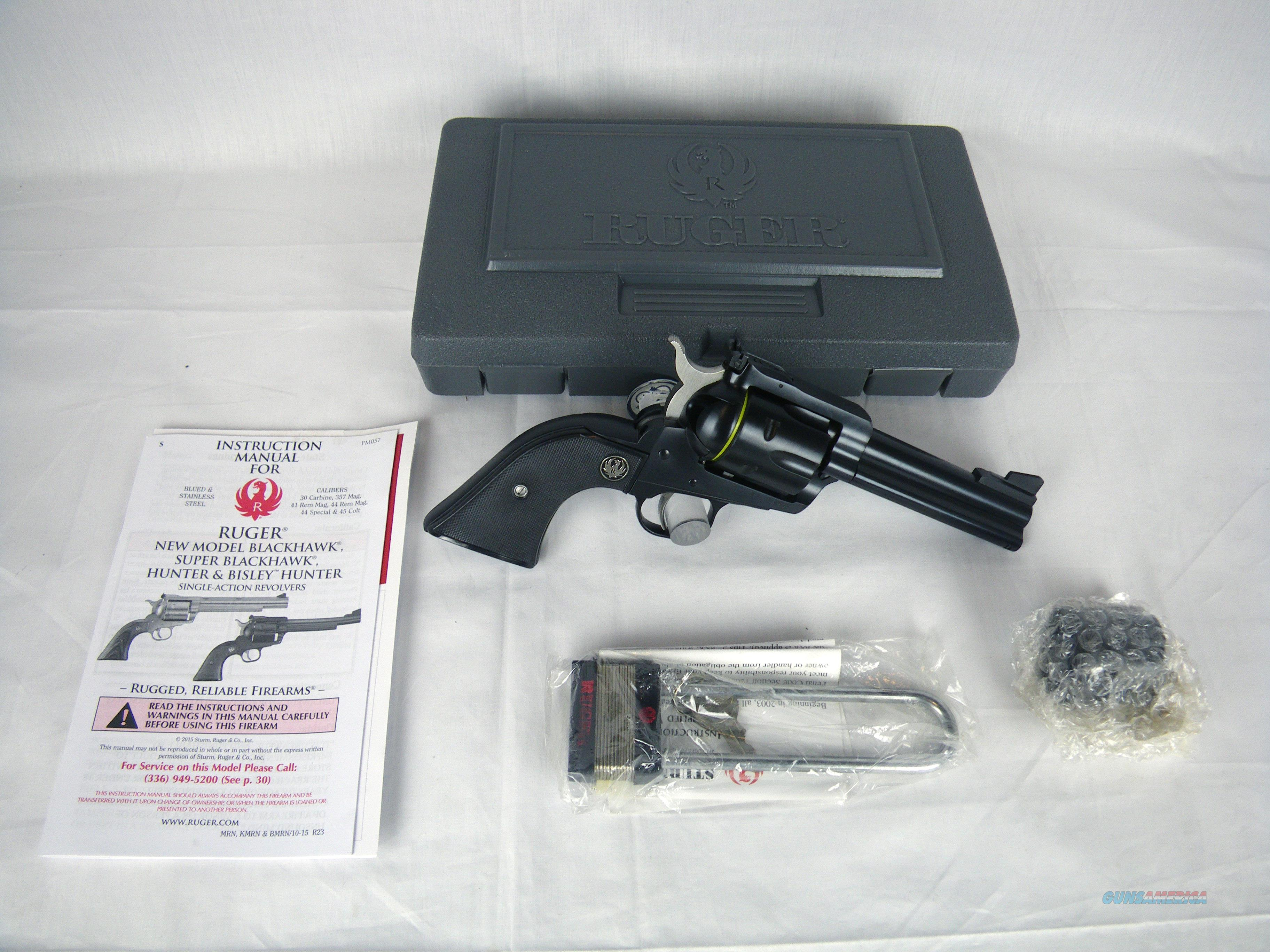 Ruger Blackhawk New Model Convertible 357/9mm NEW #0308  Guns > Pistols > Ruger Single Action Revolvers > Blackhawk Type