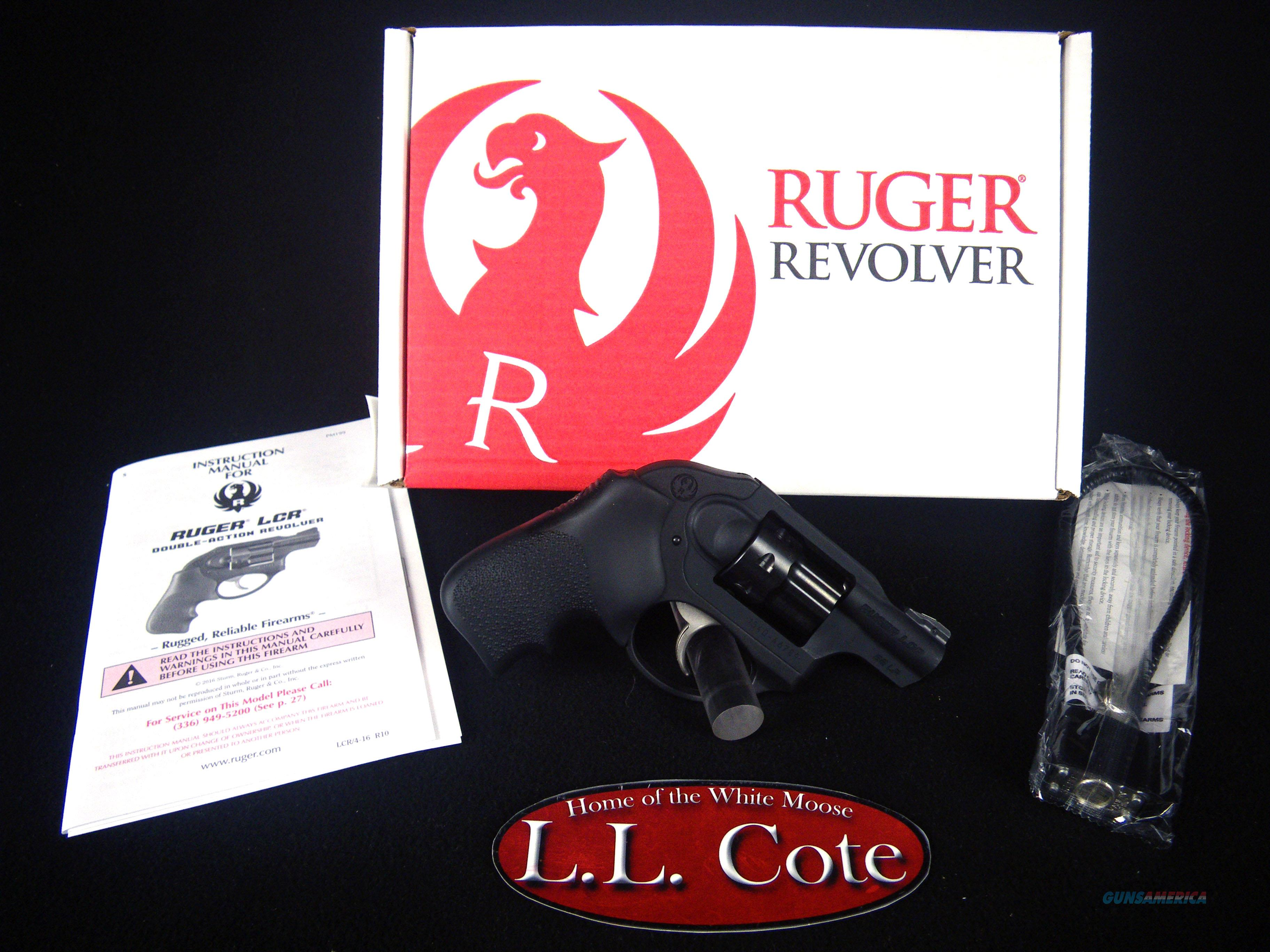 "Ruger LCR 22lr 1.87"" Black/Hogue Monogrip NEW 5410  Guns > Pistols > Ruger Double Action Revolver > LCR"