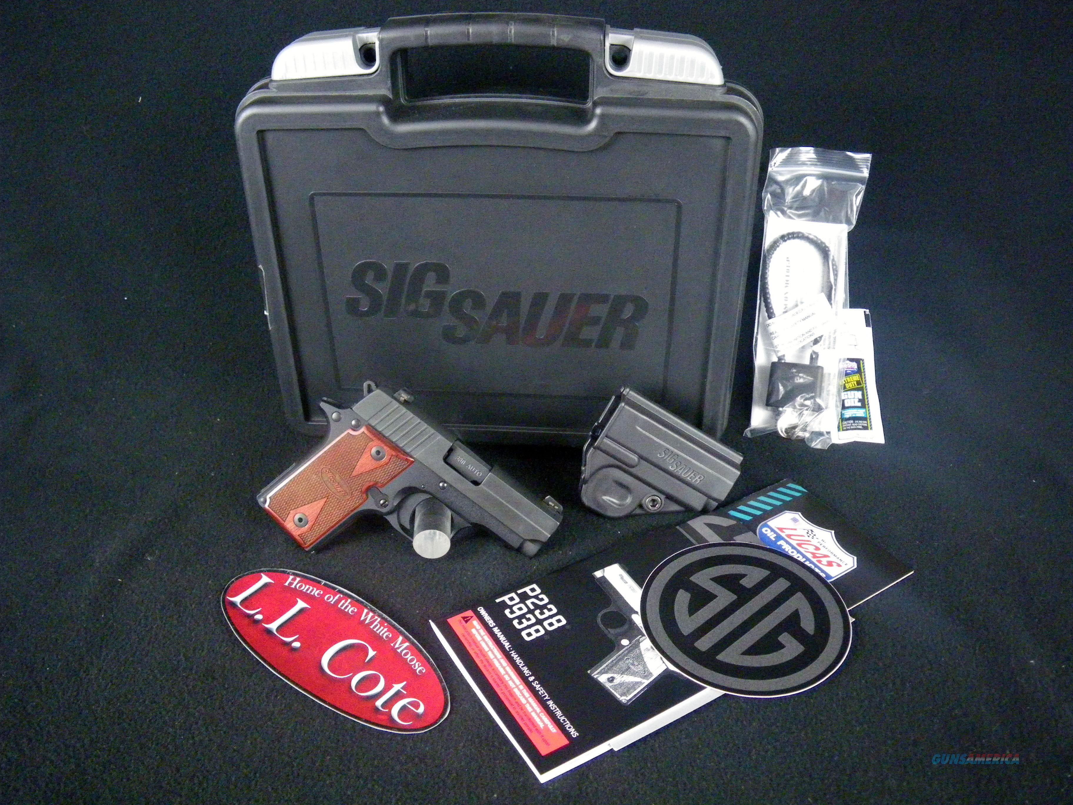 "Sig Sauer P238 Rosewood Micro-Compact 380ACP 2.7"" Sig Sauer P238 Rosewood Micro-Compact 380ACP 2.7"" 238-380-RG  Guns > Pistols > Sig - Sauer/Sigarms Pistols > P238"