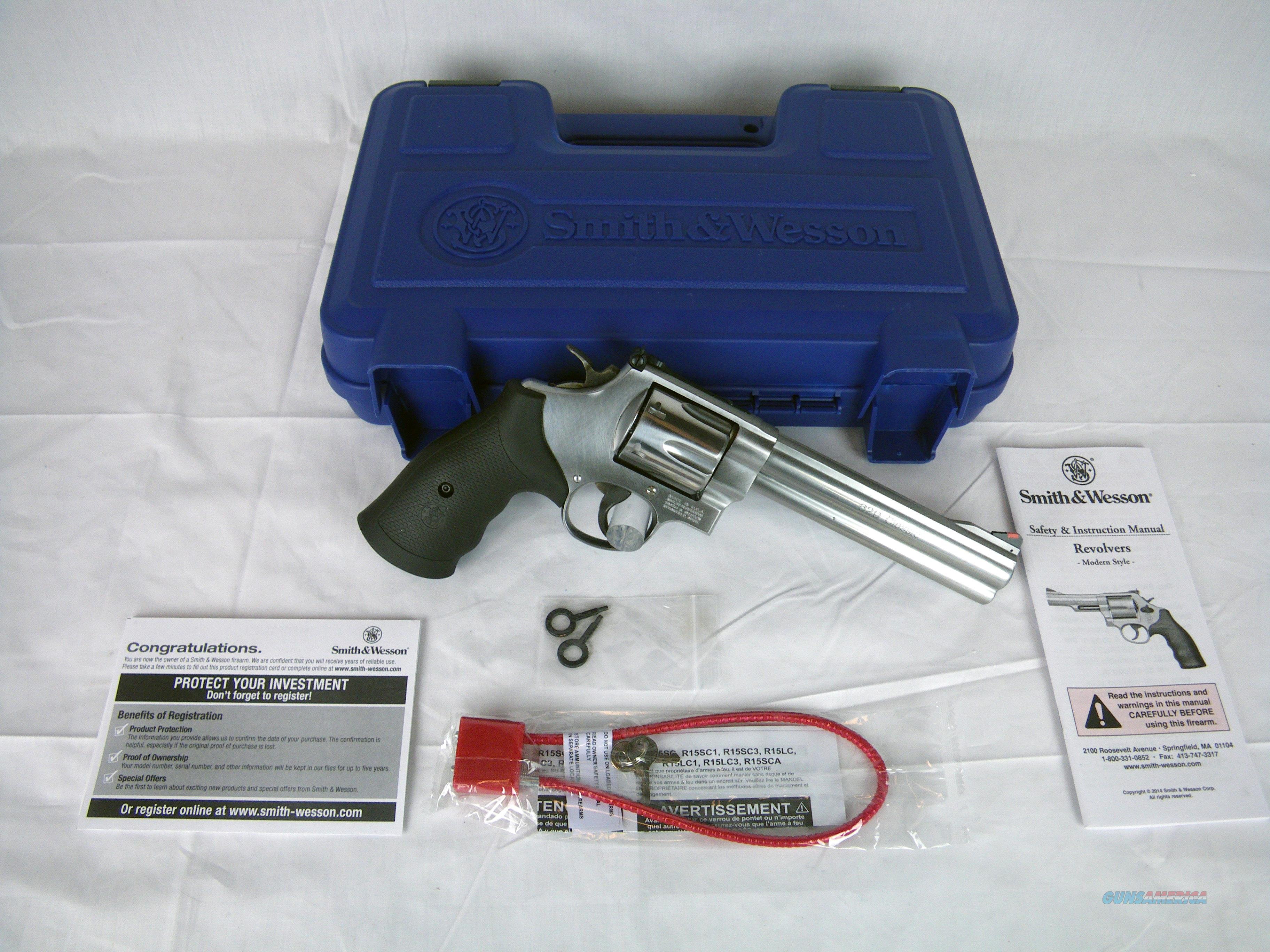 """Smith & Wesson Model 629 Classic .44 Mag 6.5"""" NEW #163638  Guns > Pistols > Smith & Wesson Revolvers > Med. Frame ( K/L )"""