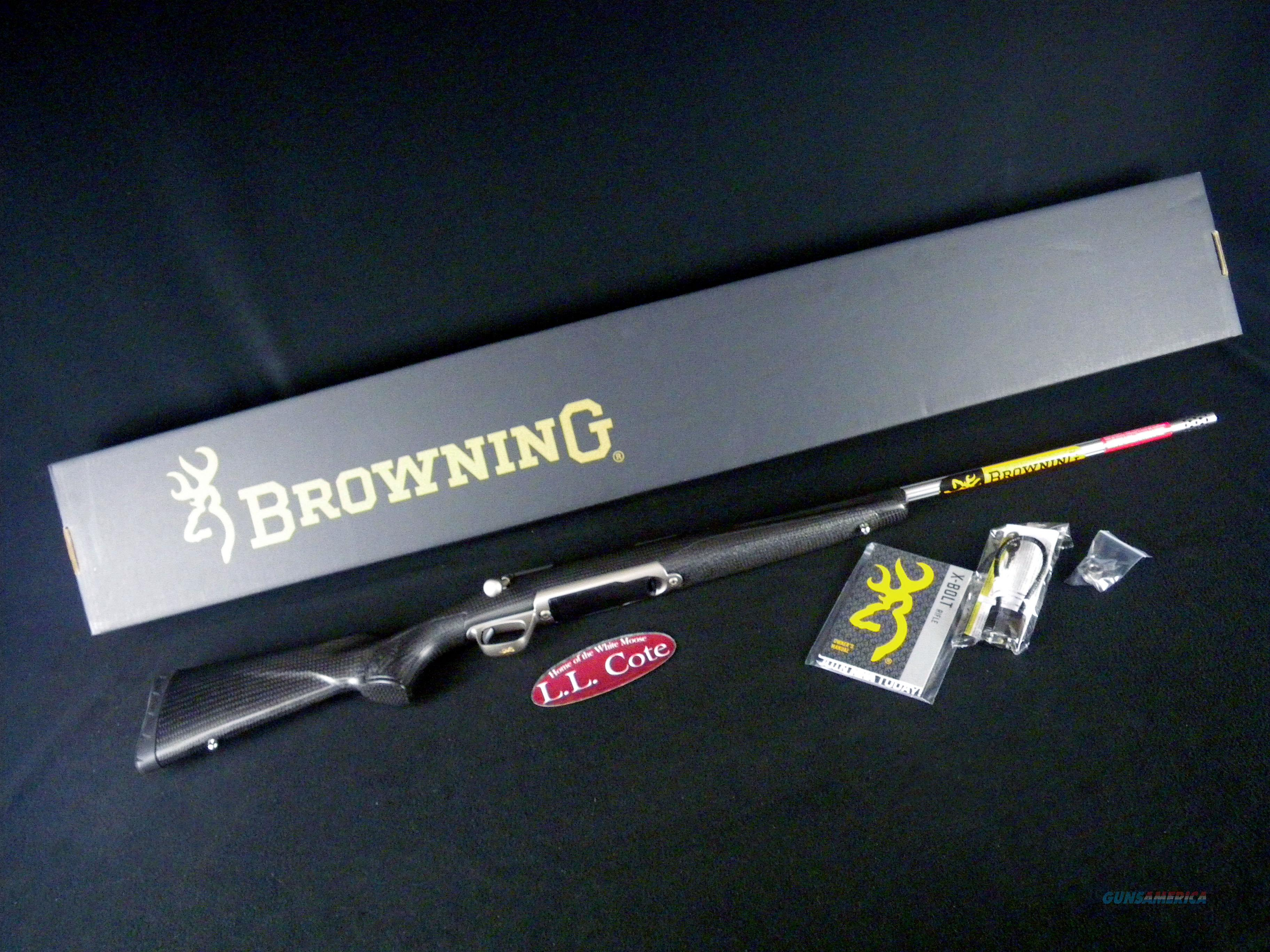 "Browning X-Bolt Pro Stainless 6.5 Creed 22"" NEW 035476282  Guns > Rifles > Browning Rifles > Bolt Action > Hunting > Stainless"