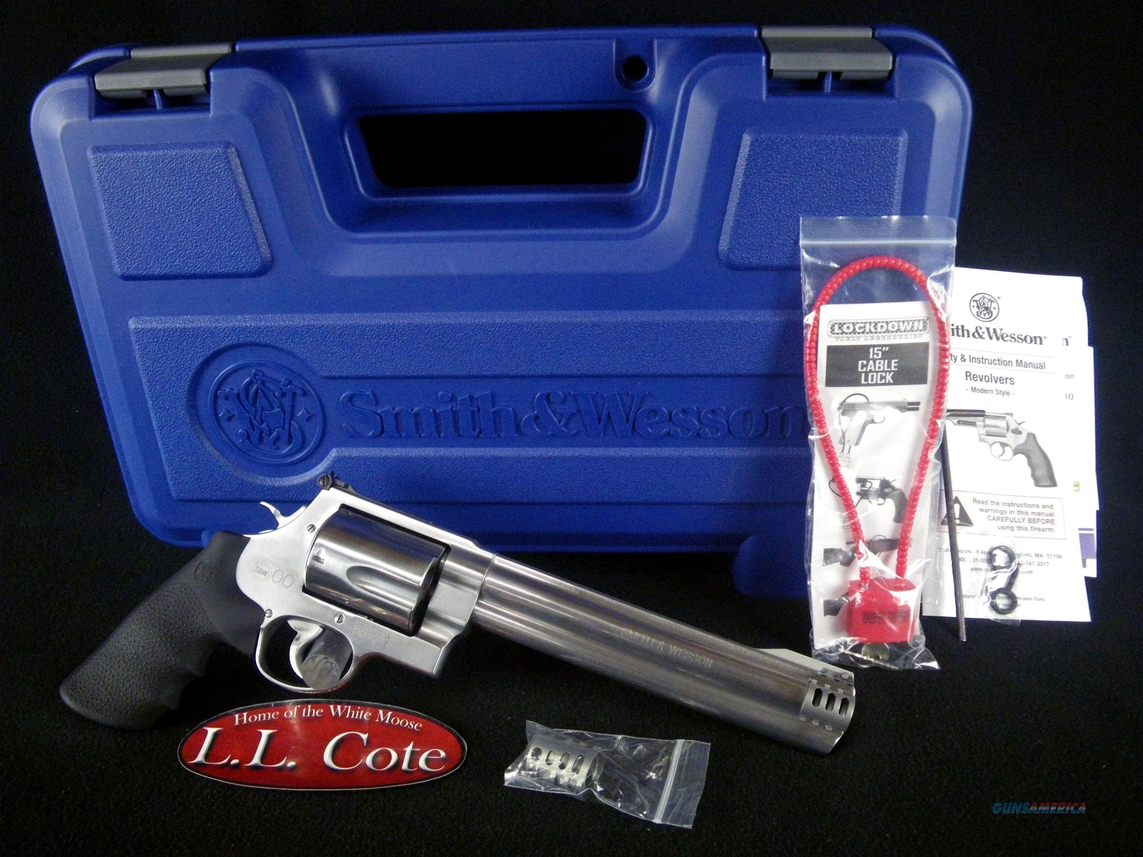 "Smith & Wesson Model 500 8.38"" 500 S&W NEW 163501  Guns > Pistols > Smith & Wesson Revolvers > Full Frame Revolver"